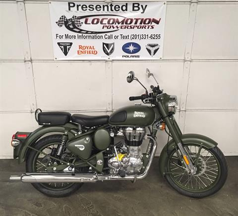 2018 Royal Enfield Classic Military ABS in Mahwah, New Jersey