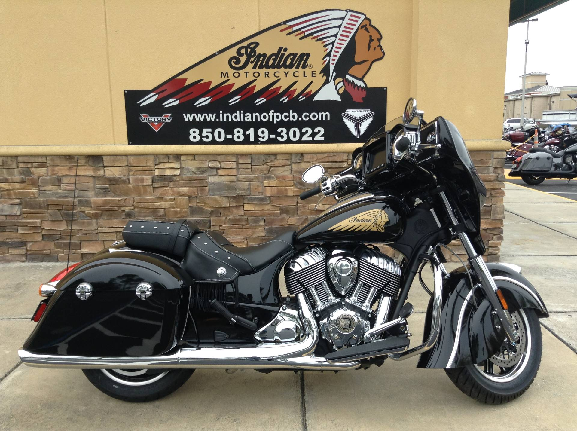 2019 Indian CHIEFTAIN in Panama City Beach, Florida - Photo 1