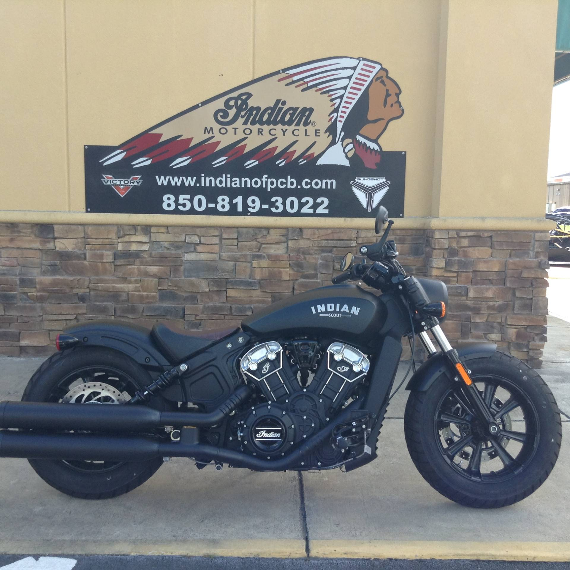 2019 Indian SCOUT BOBBER in Panama City Beach, Florida - Photo 1