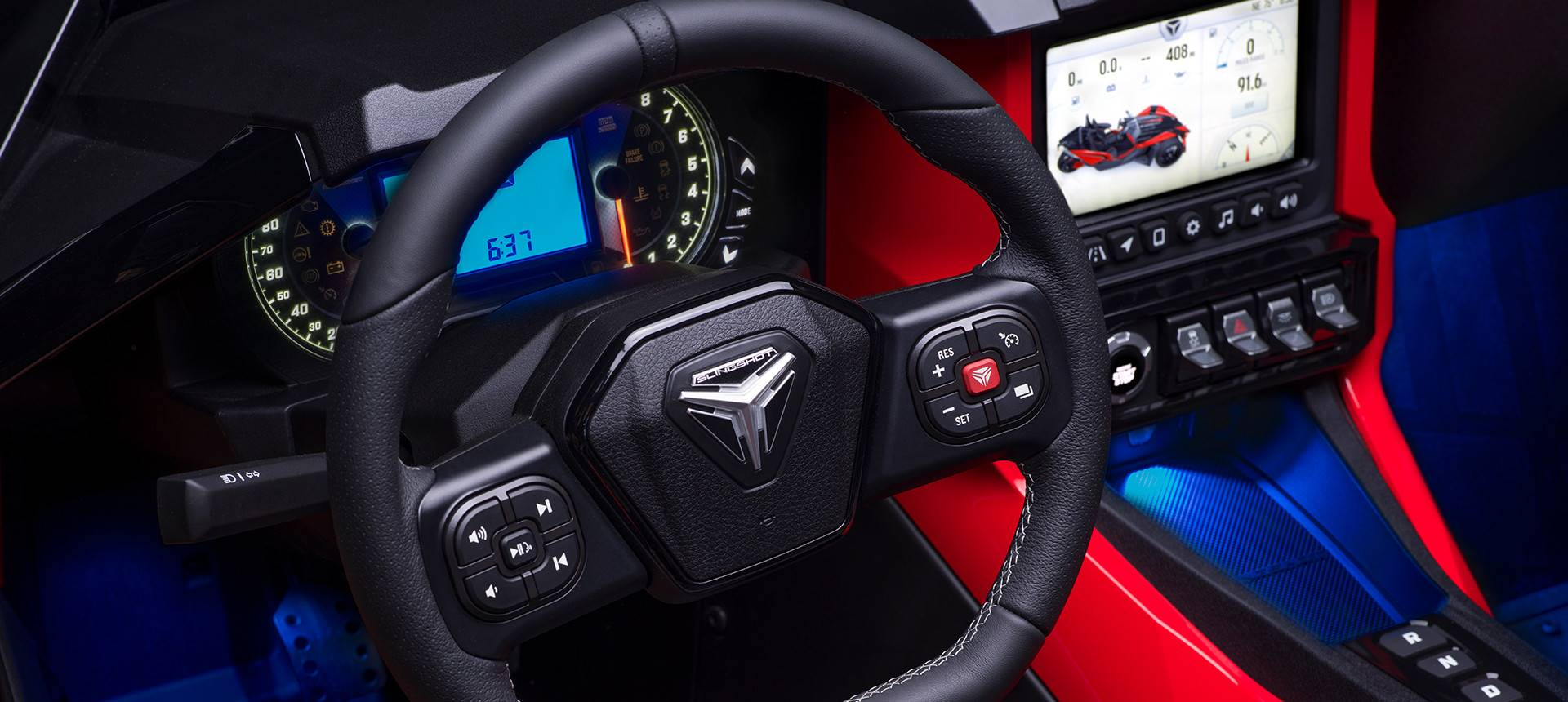 2020 Polaris SLINGSHOT in Panama City Beach, Florida - Photo 14