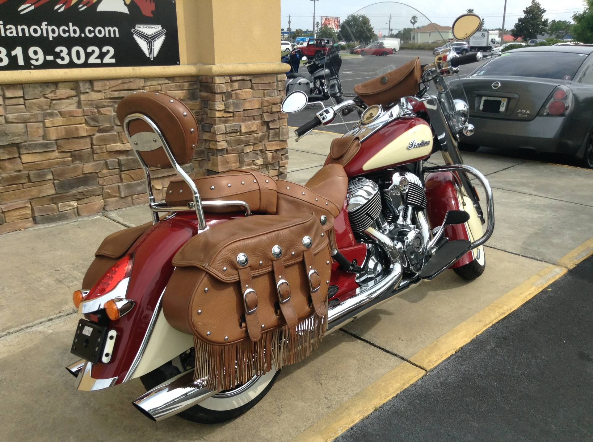 2015 Indian VINTAGE in Panama City Beach, Florida