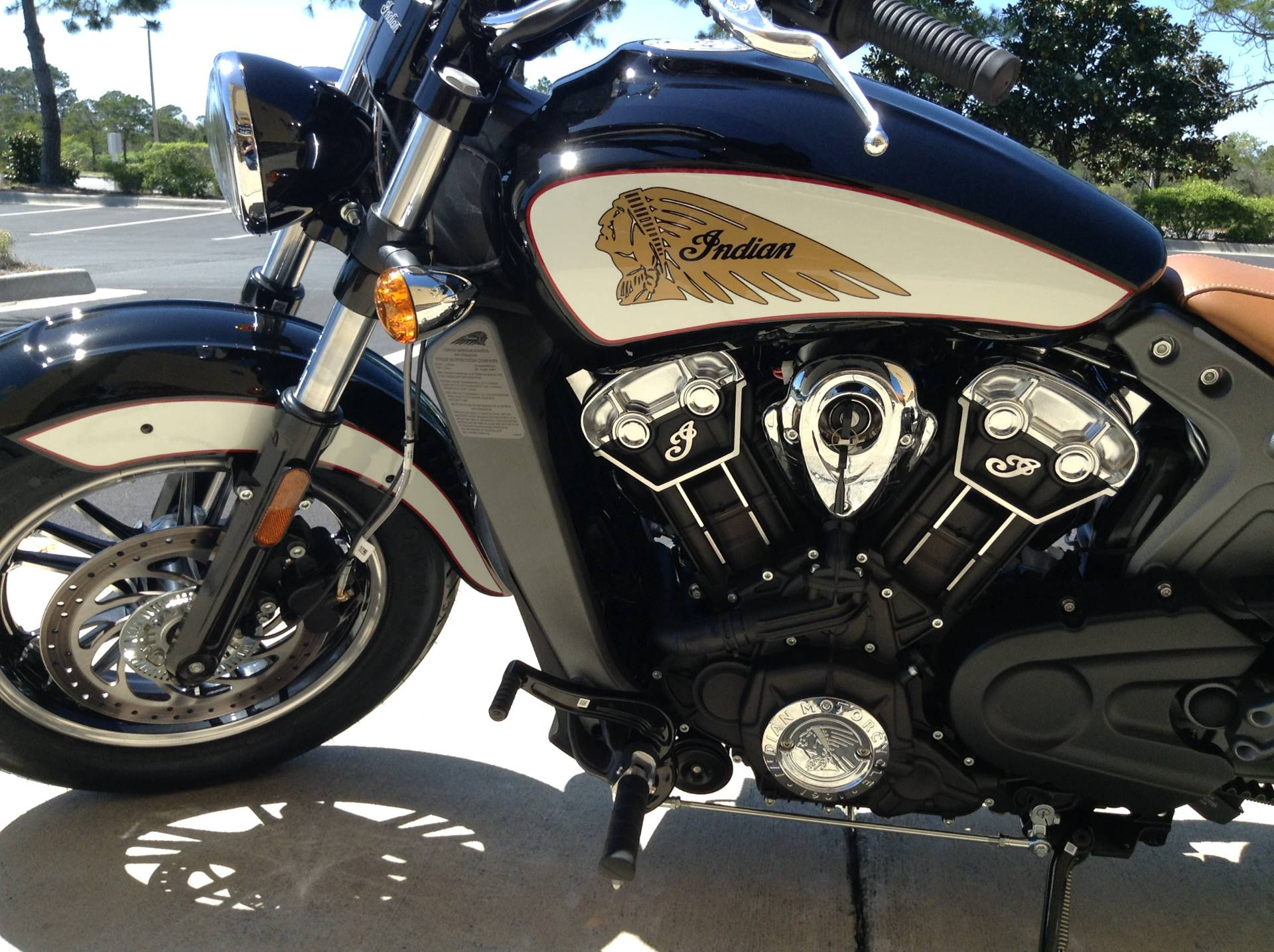 2018 Indian Scout Icon Series in Panama City Beach, Florida