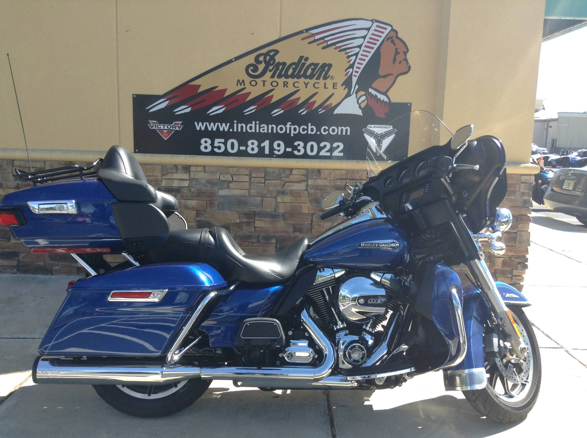 Used 2016 Harley Davidson Ultra Classic Motorcycles In Panama City