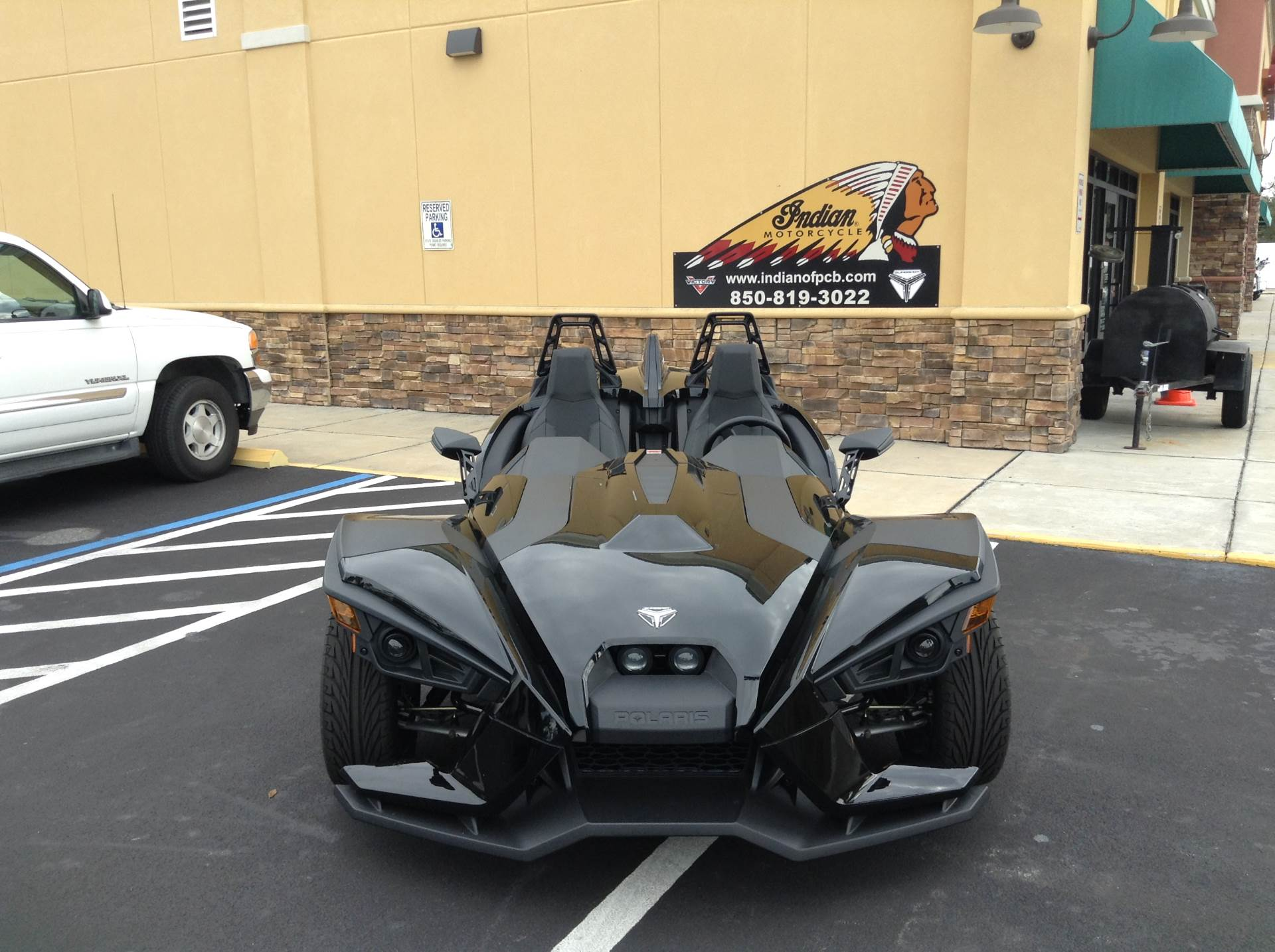 2018 Polaris SLINGSHOT S in Panama City Beach, Florida