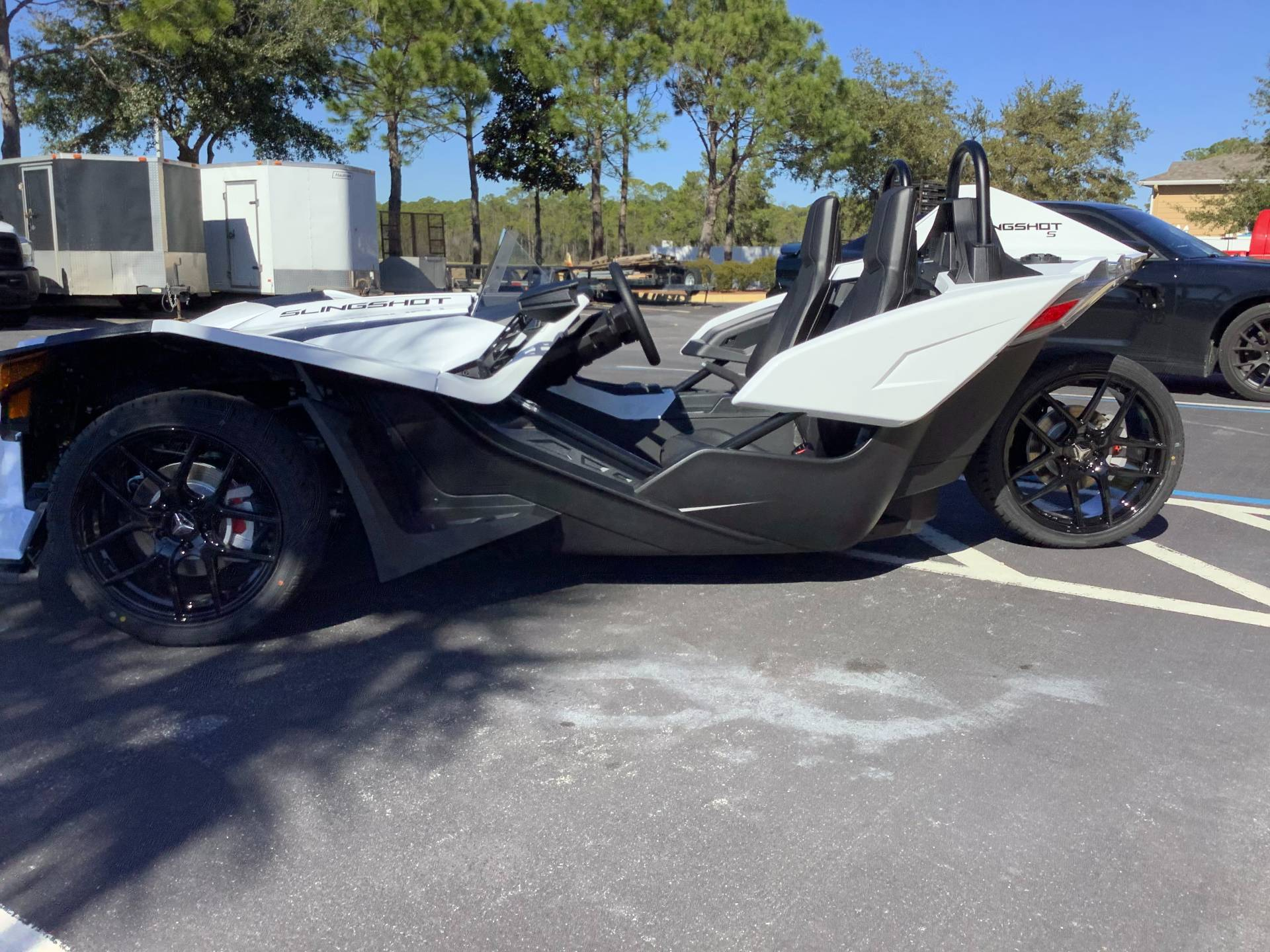 2021 Polaris SLINGSHOT S TECH PACKAGE 1 in Panama City Beach, Florida - Photo 4