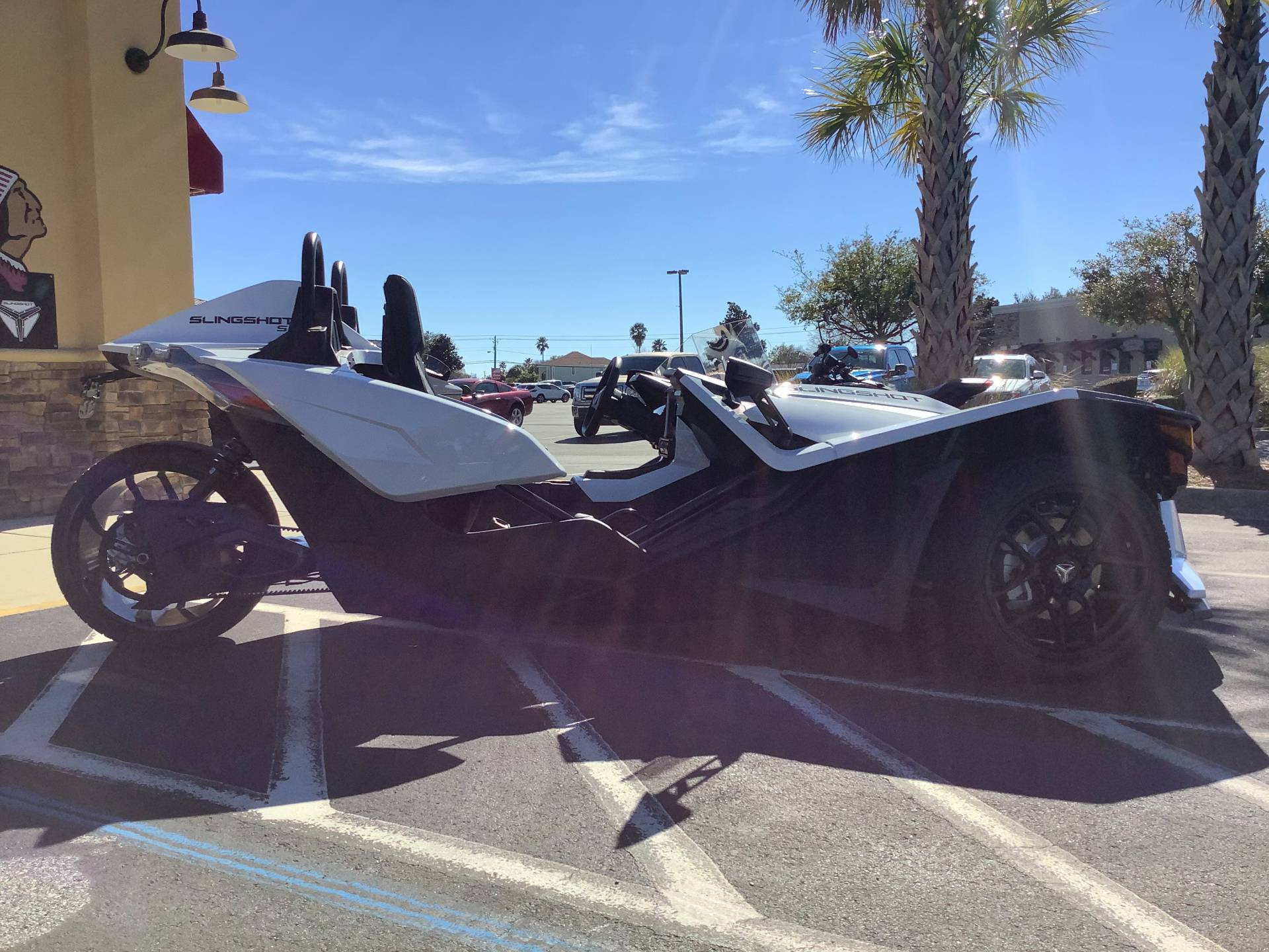 2021 Polaris SLINGSHOT S TECH PACKAGE 1 in Panama City Beach, Florida - Photo 8