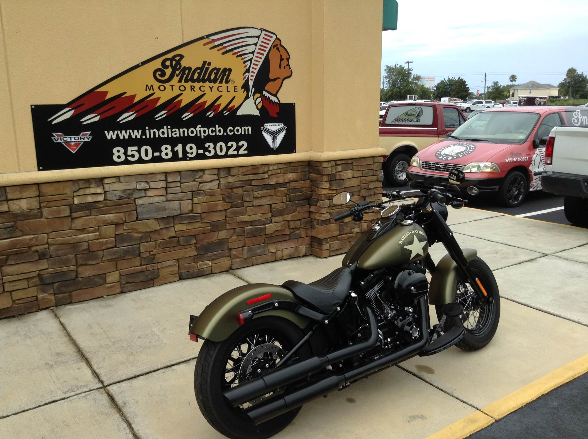 2016 Harley-Davidson FLSS / SOFTAIL SLIM in Panama City Beach, Florida