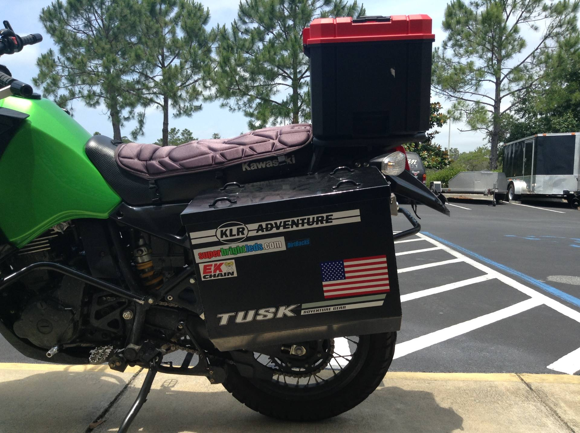 2016 KAWASAKI KLR 650 in Panama City Beach, Florida