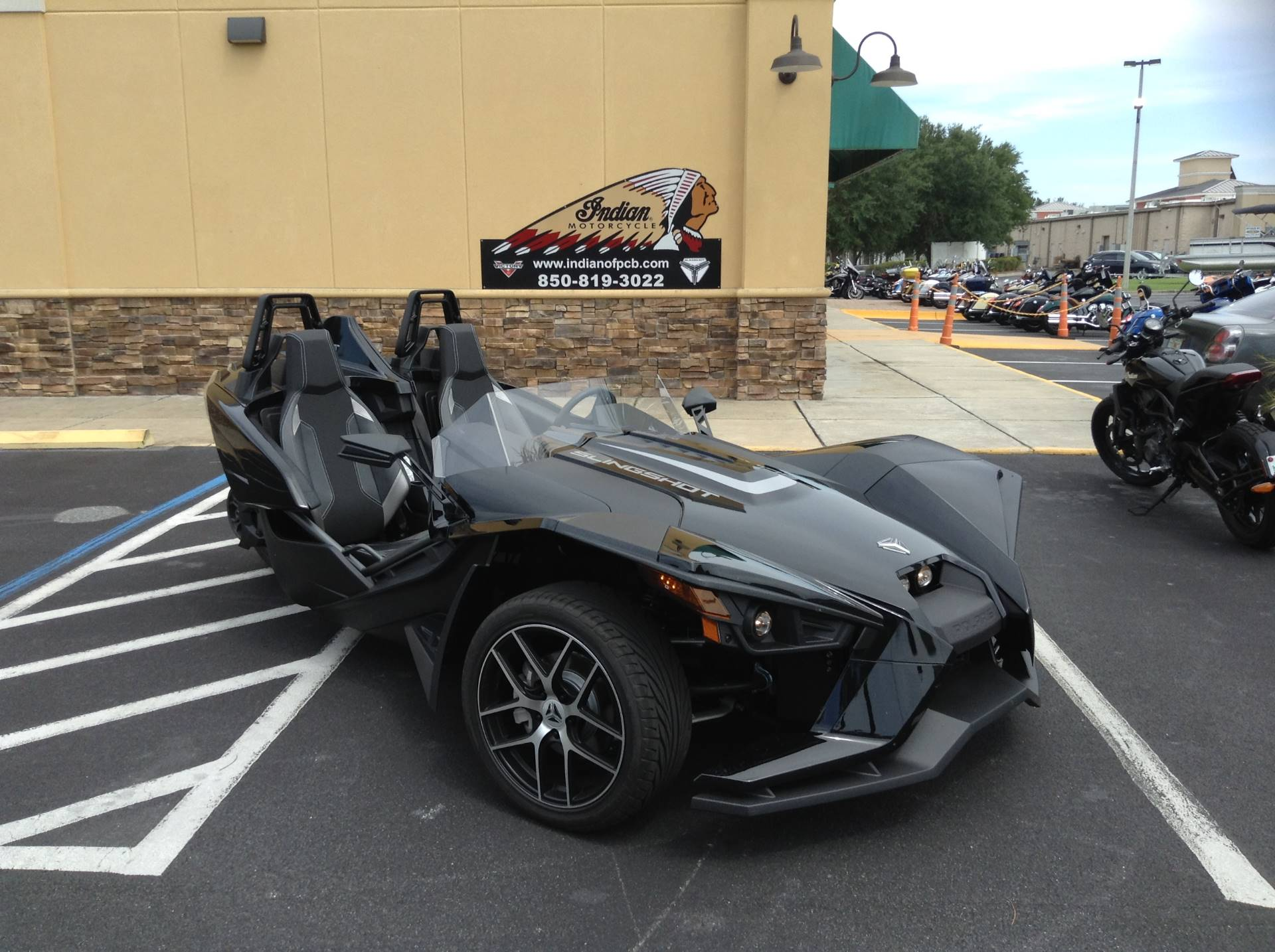2019 Polaris SLINGSHOT SL in Panama City Beach, Florida - Photo 1