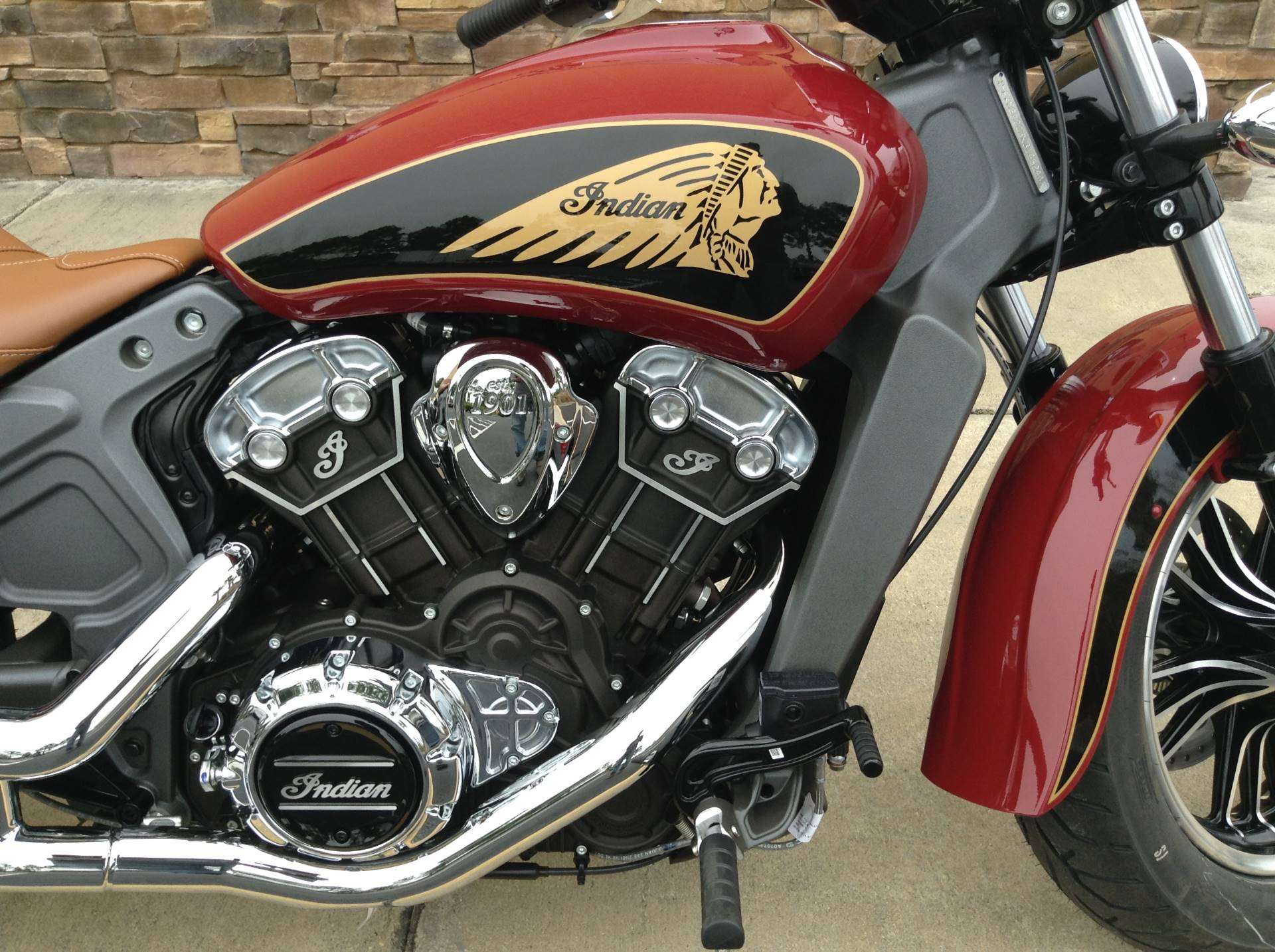 2019 Indian SCOUT ABS in Panama City Beach, Florida - Photo 8