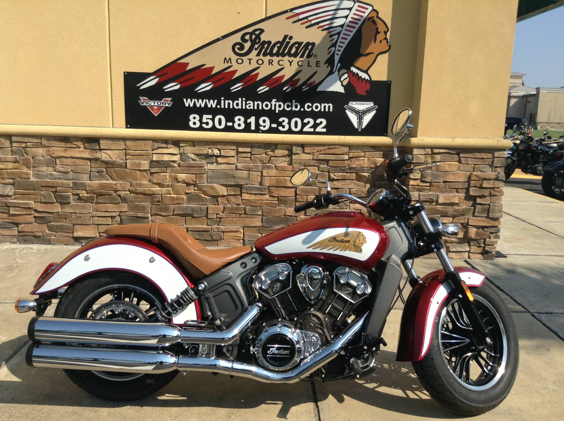 2020 Indian SCOUT ABS ICON SERIES in Panama City Beach, Florida - Photo 1