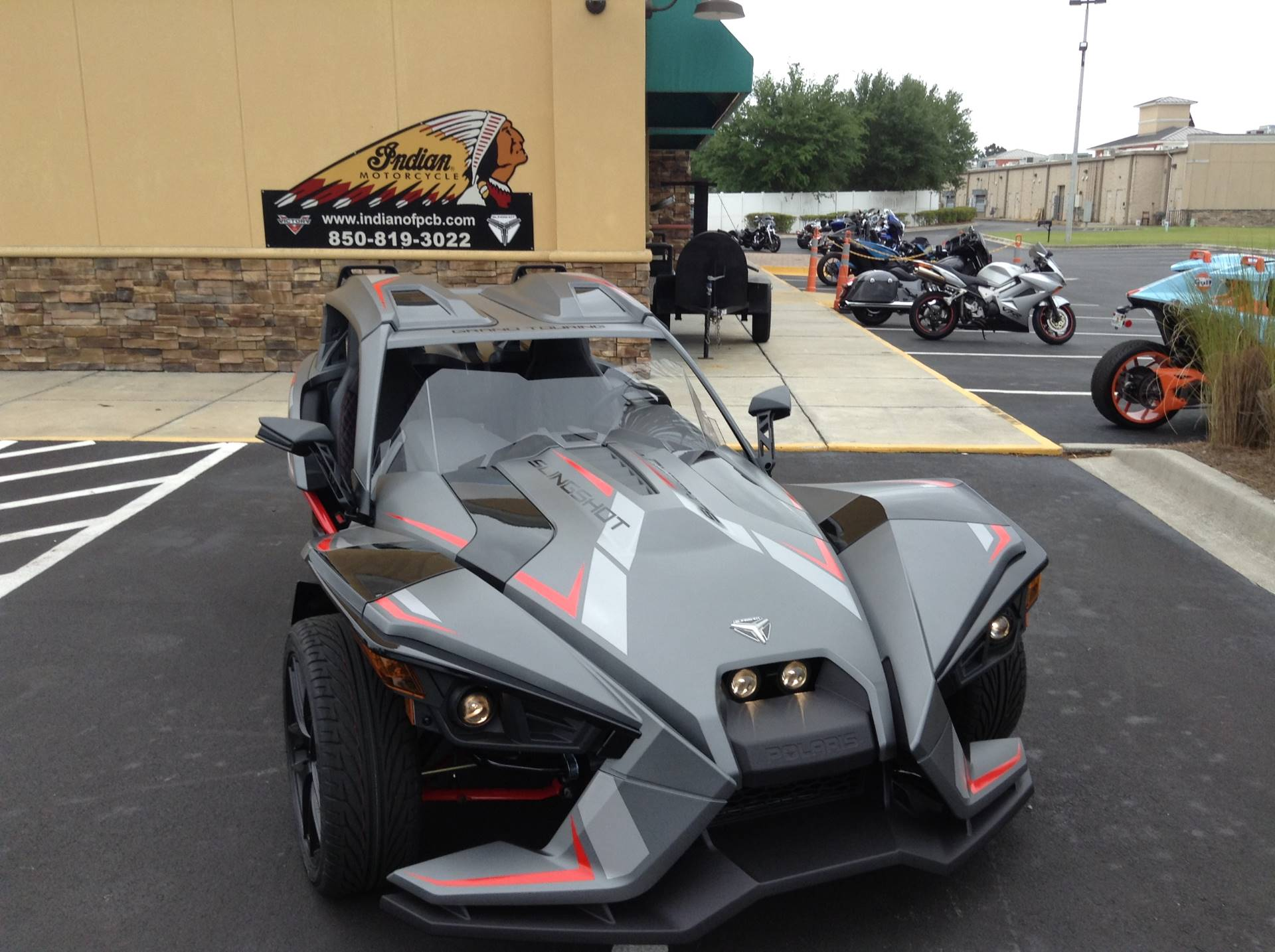 2018 Polaris Slingshot Grand Touring Le In Panama City Beach Florida