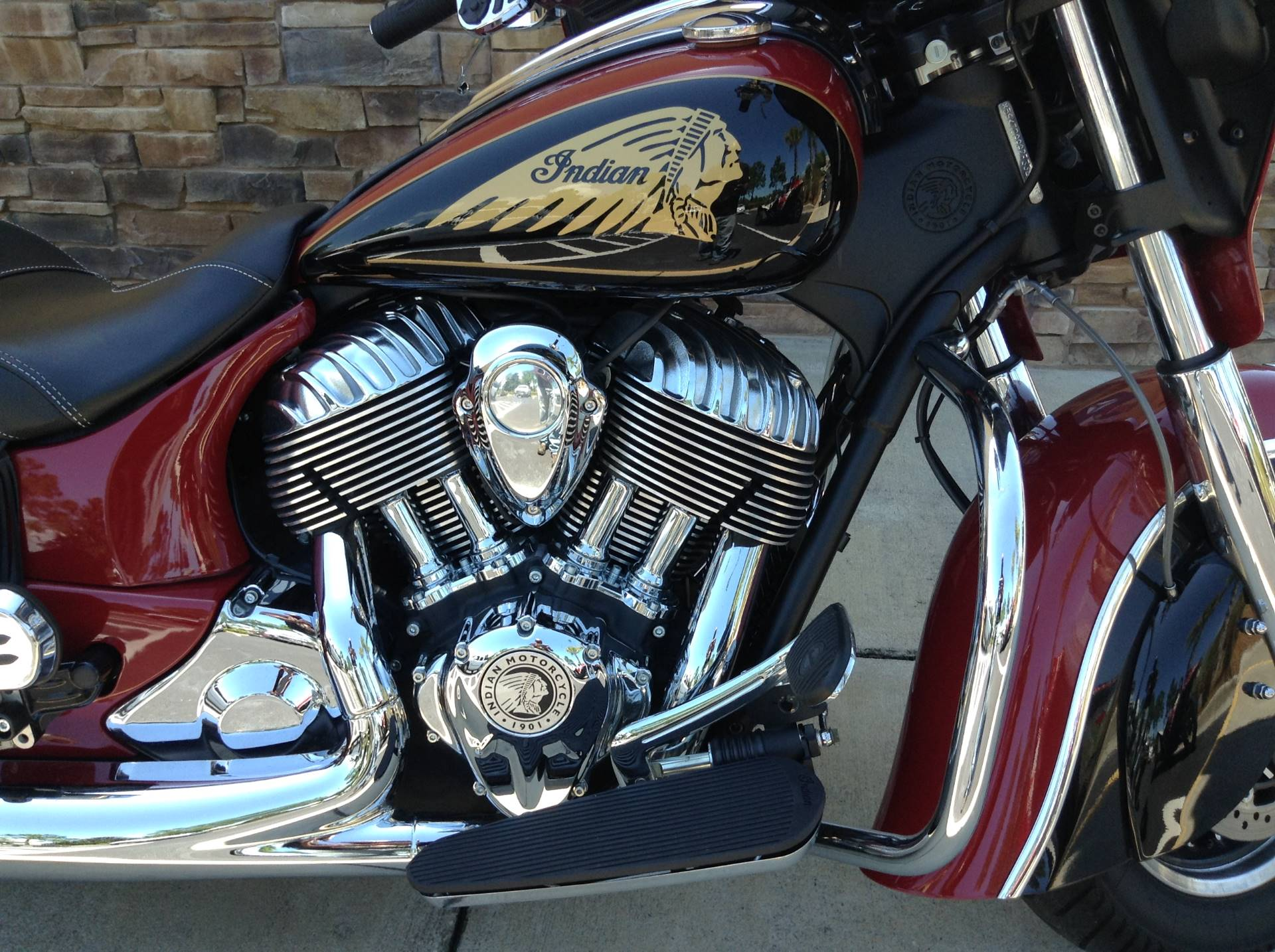 2015 Indian Chieftain in Panama City Beach, Florida