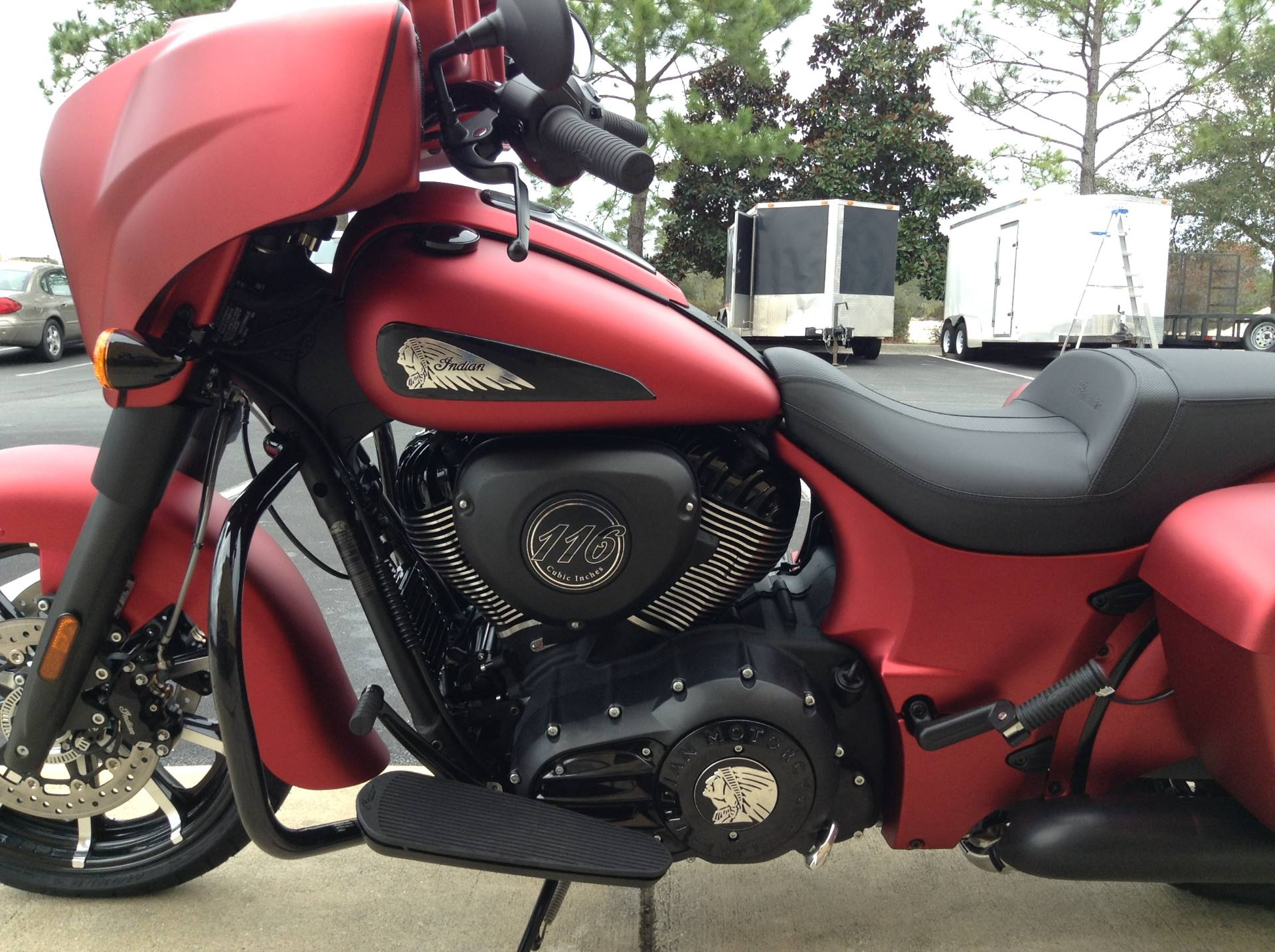 2020 Indian CHIEFTAIN DARKHORSE in Panama City Beach, Florida - Photo 8