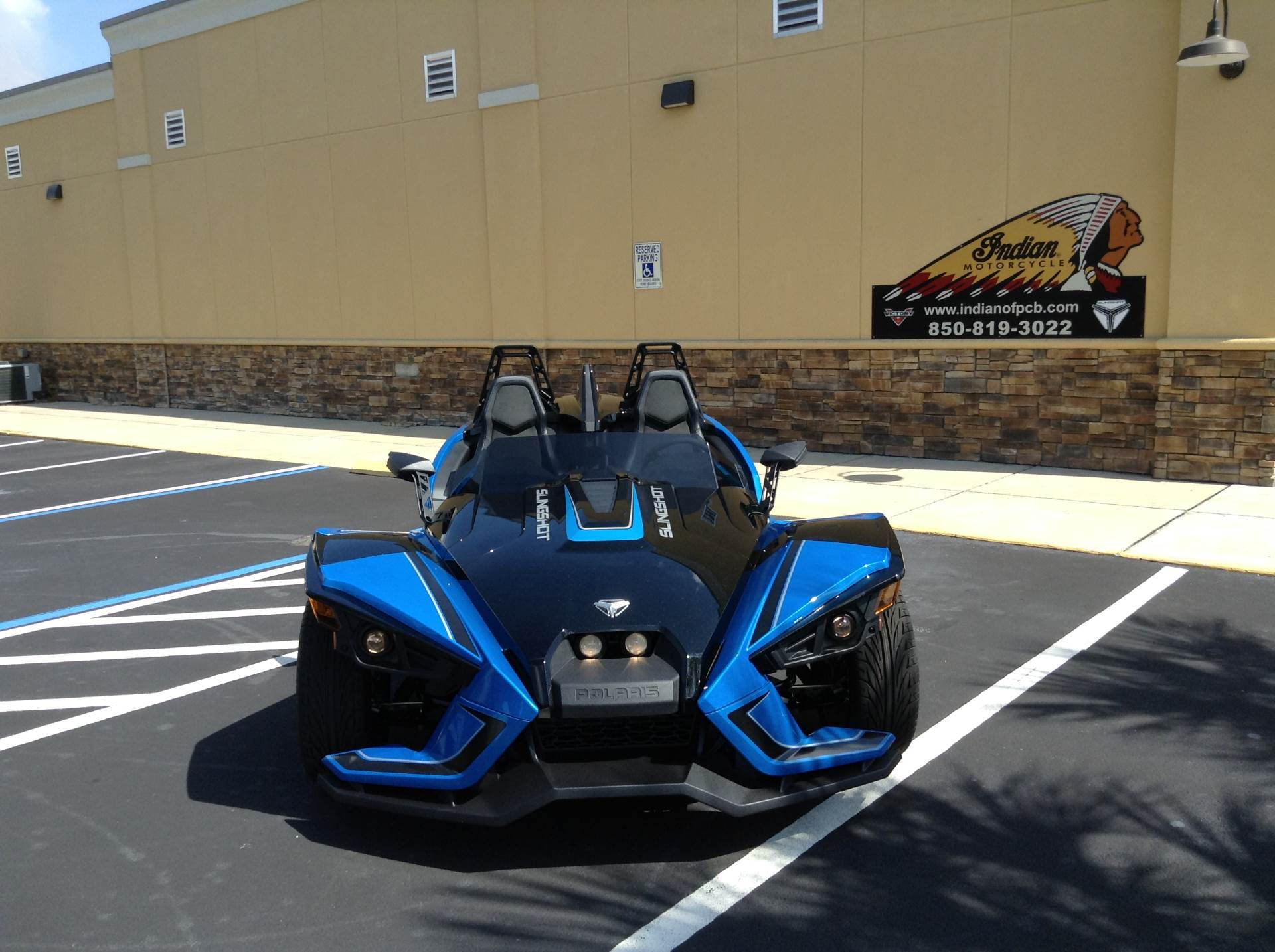 2018 Polaris SLINGSHOT SLR in Panama City Beach, Florida