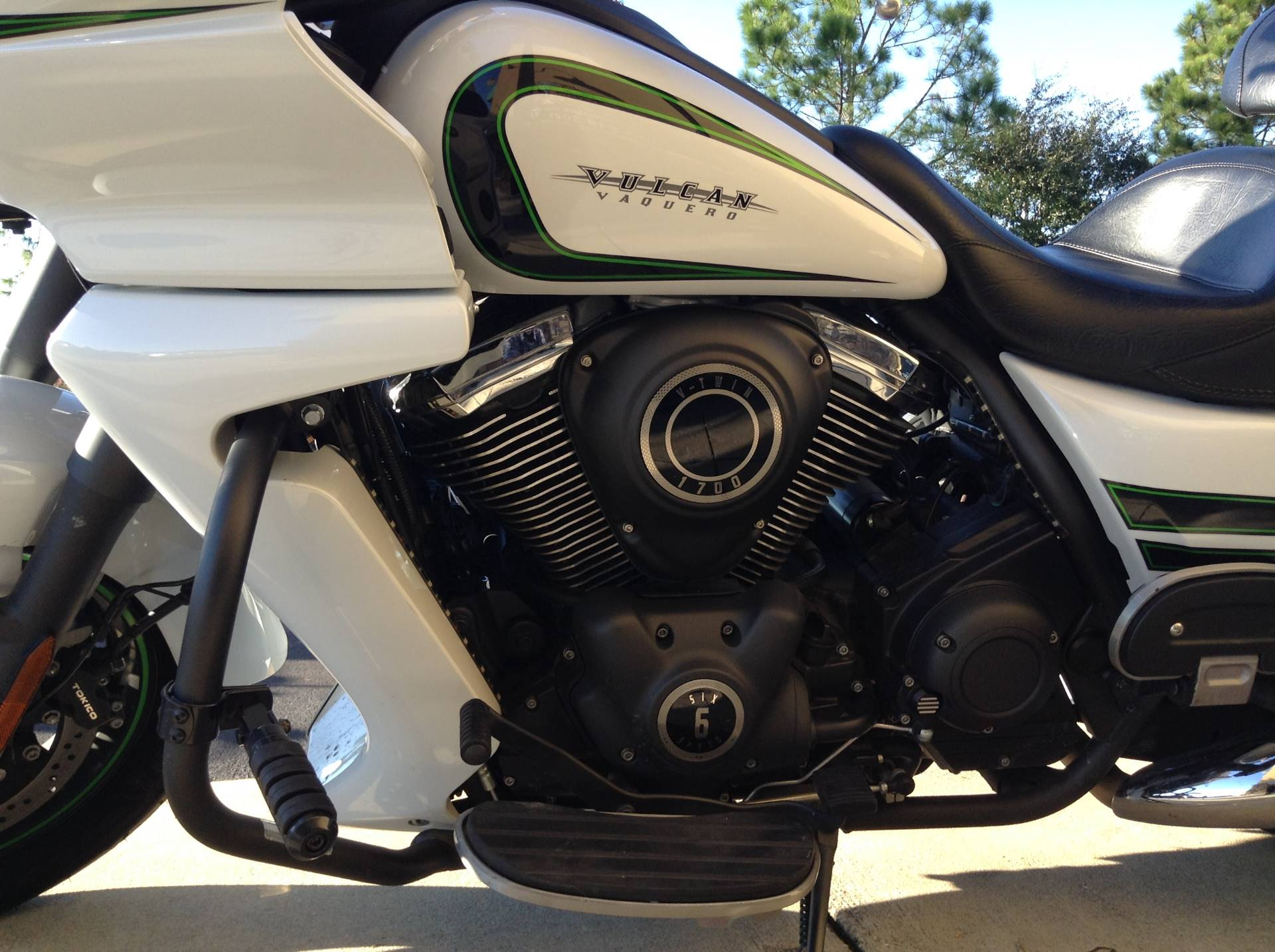 2016 KAWASAKI VULCAN 1700 VAQUERO ABS in Panama City Beach, Florida
