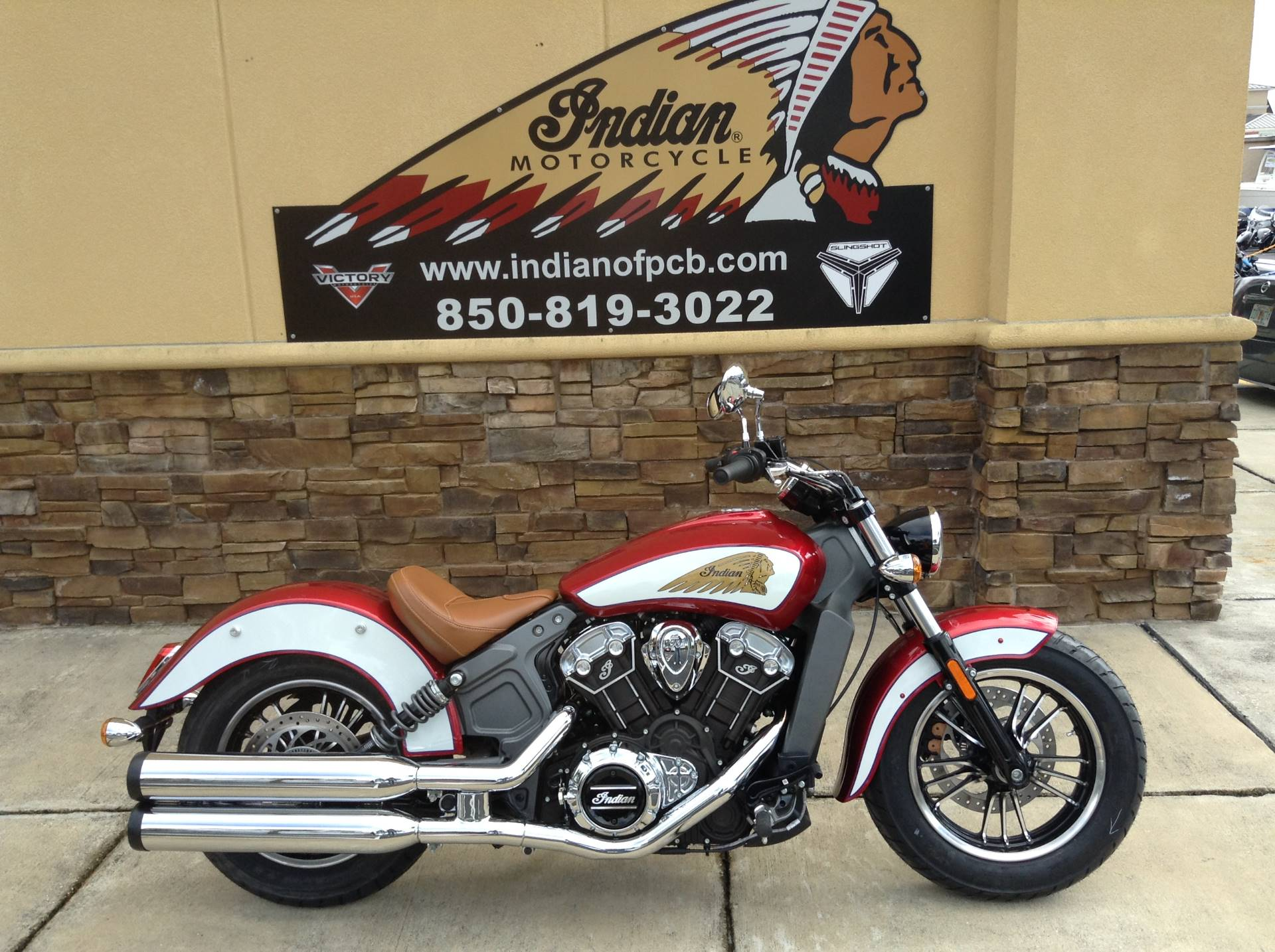 2019 Indian SCOUT ABS  ICON SERIES in Panama City Beach, Florida - Photo 1