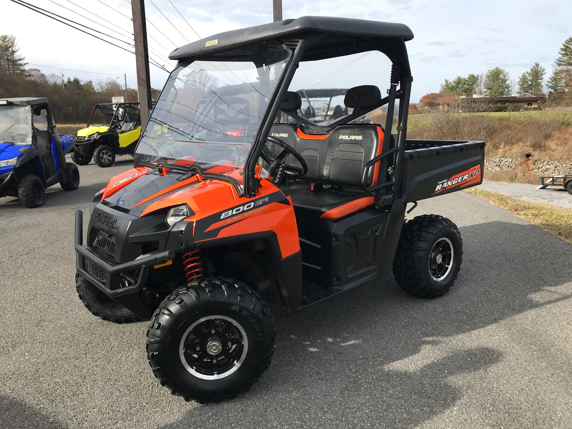 Used Utility Vehicles >> 2012 Polaris Ranger Xp 800 Le In Beckley West Virginia