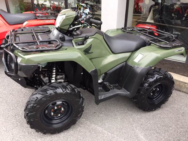 2015 FourTrax Foreman Rubicon 4x4 DCT
