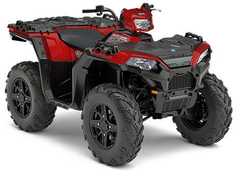2017 Polaris Sportsman 850 SP in Ames, Iowa