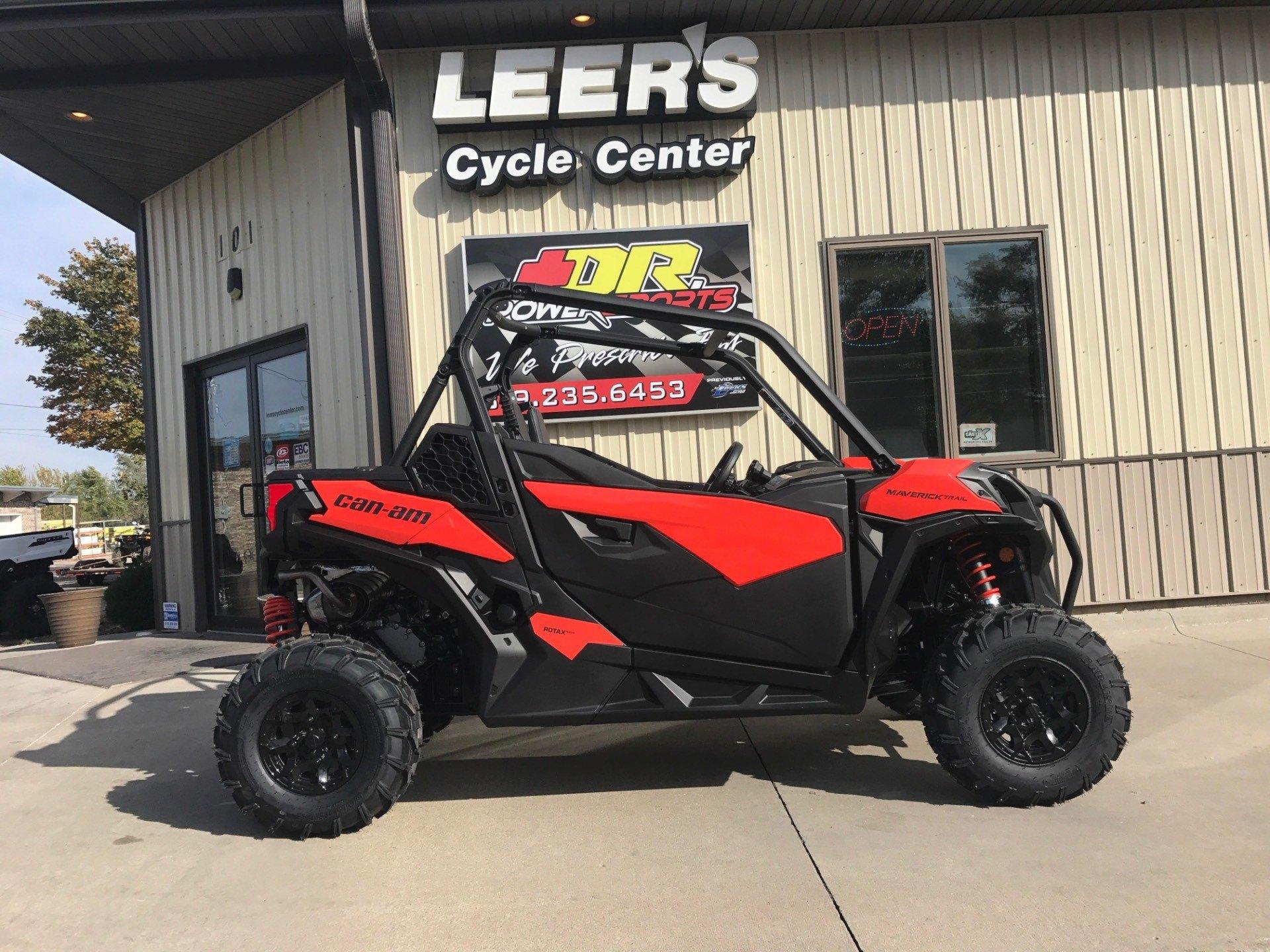 2018 Can Am Maverick Trail 1000 DPS Utility Vehicles Waterloo Iowa