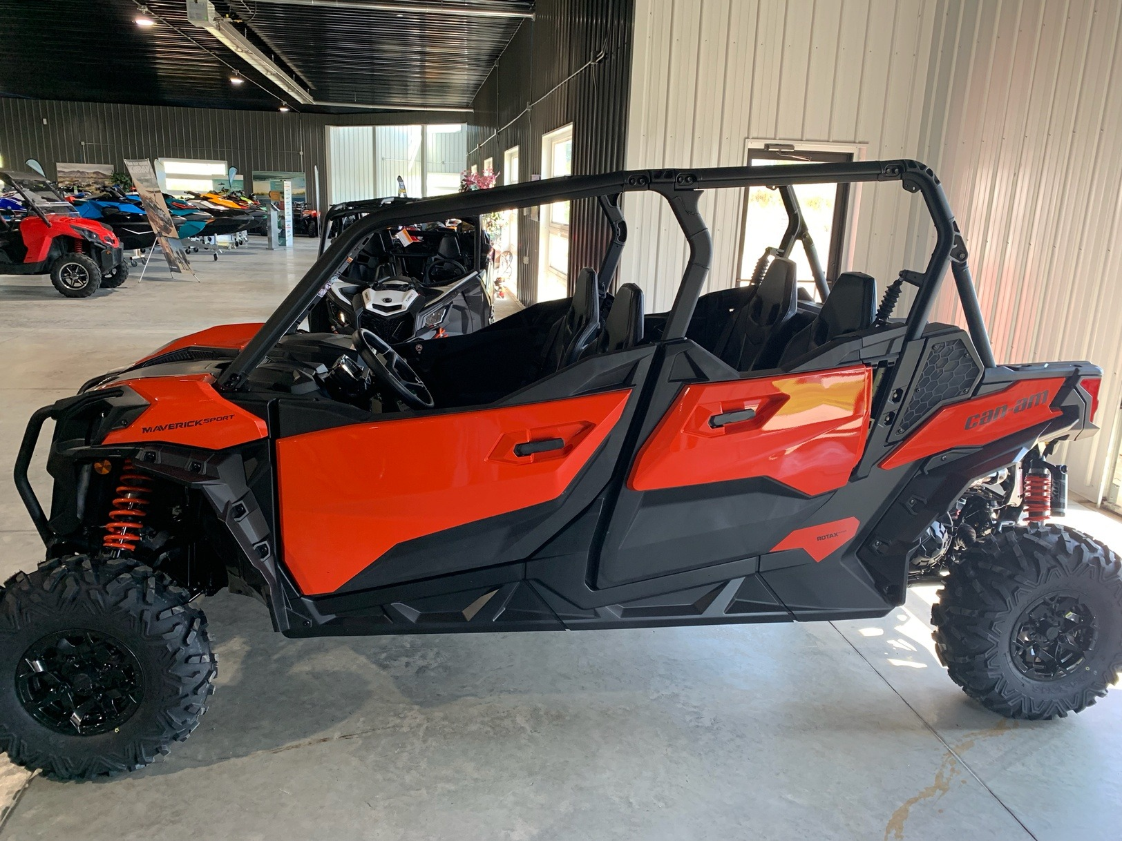 2020 Can-Am Maverick Sport Max DPS 1000R in Cedar Falls, Iowa - Photo 3