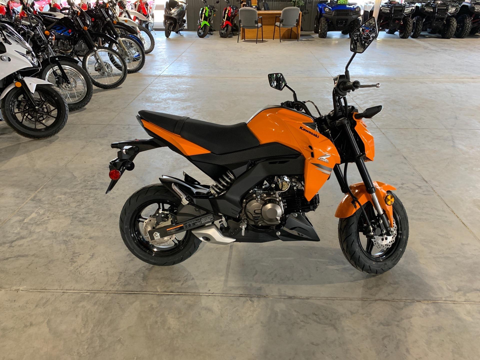 2019 Kawasaki Z125 Pro in Cedar Falls, Iowa