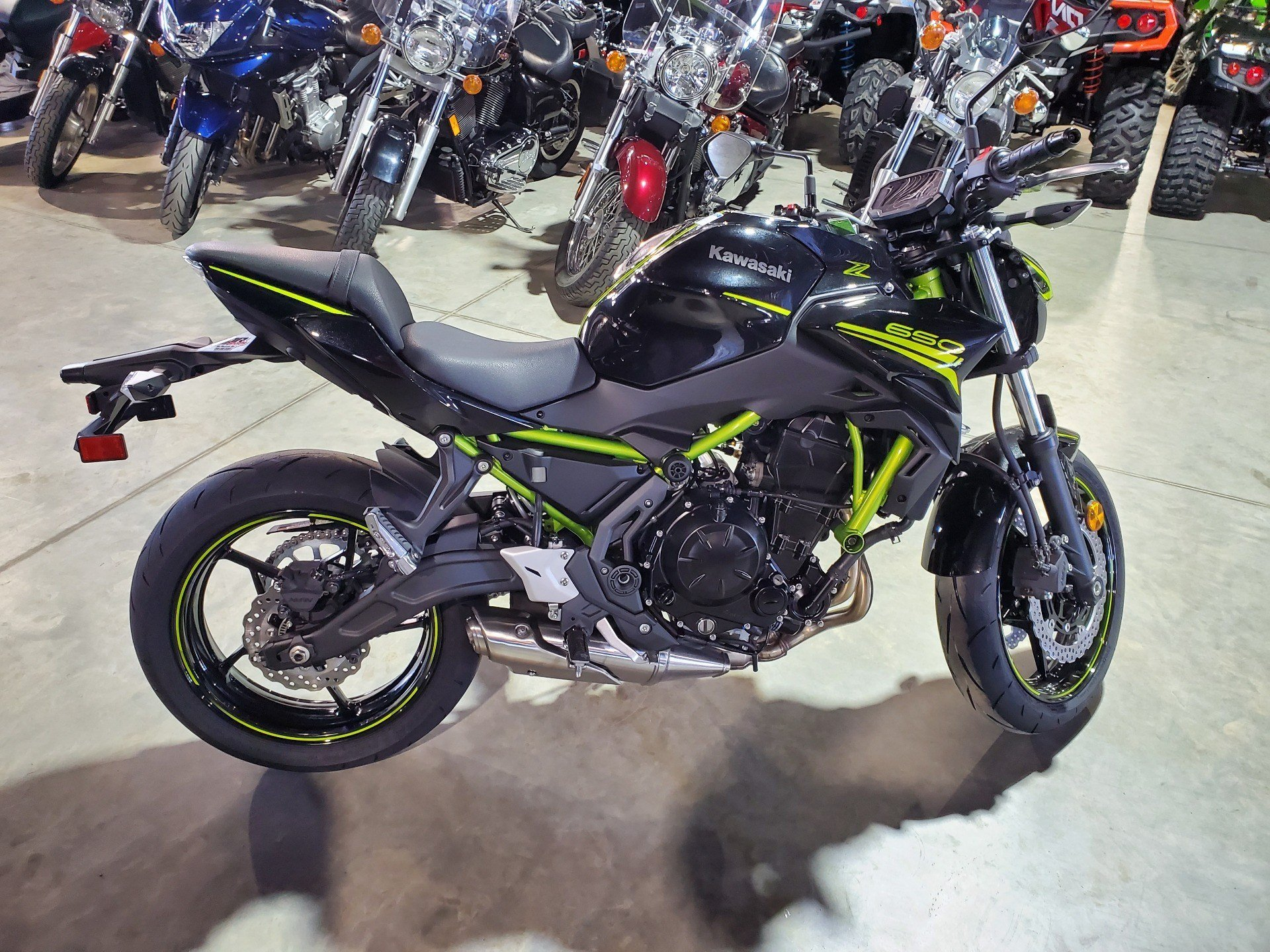 2020 Kawasaki Z650 in Cedar Falls, Iowa - Photo 3