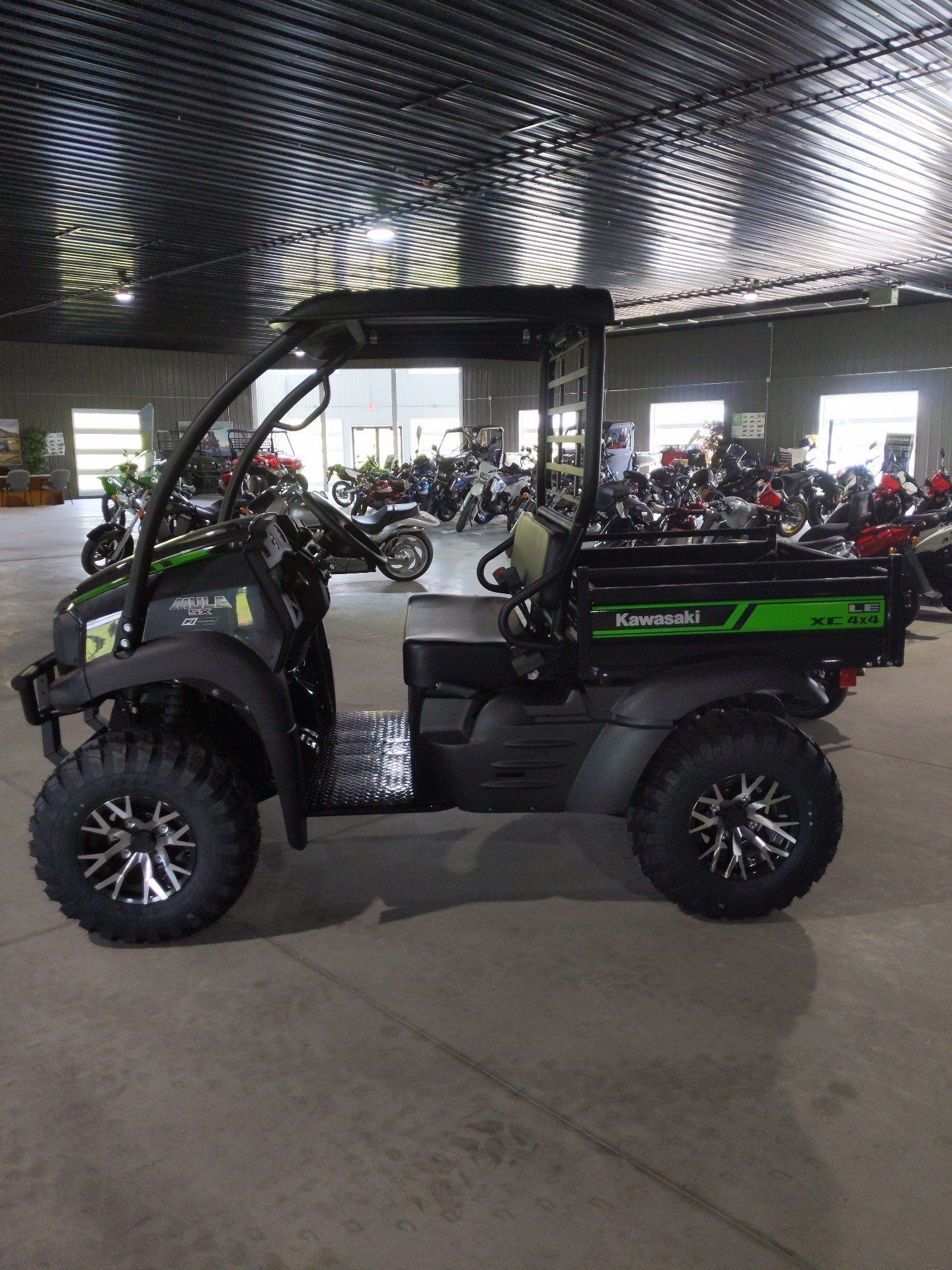 2021 Kawasaki Mule SX 4x4 XC LE FI in Cedar Falls, Iowa - Photo 3