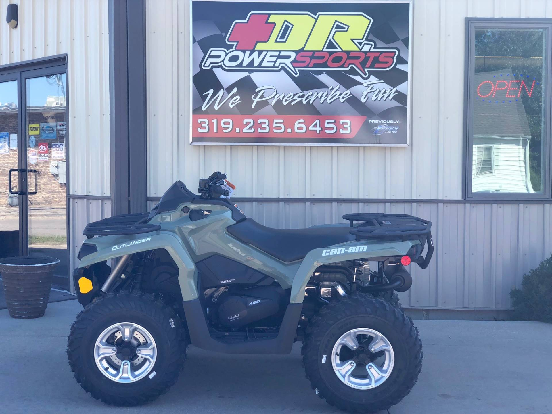 2019 Can-Am Outlander DPS 450 in Cedar Falls, Iowa - Photo 2