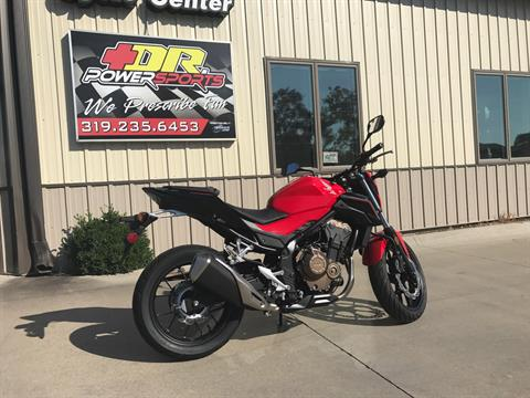 2017 Honda CB500F in Cedar Falls, Iowa - Photo 4