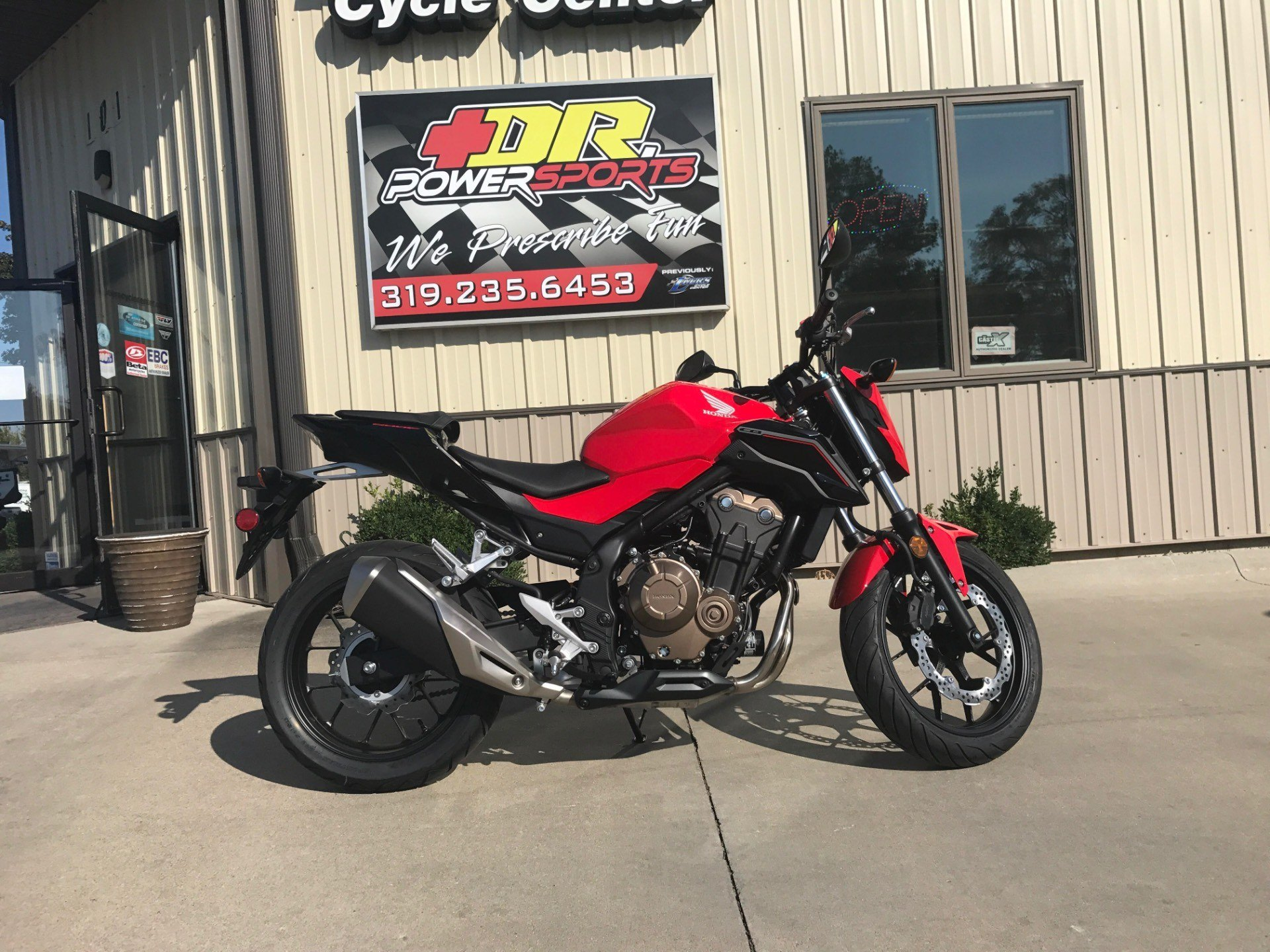 2017 Honda CB500F in Cedar Falls, Iowa - Photo 5