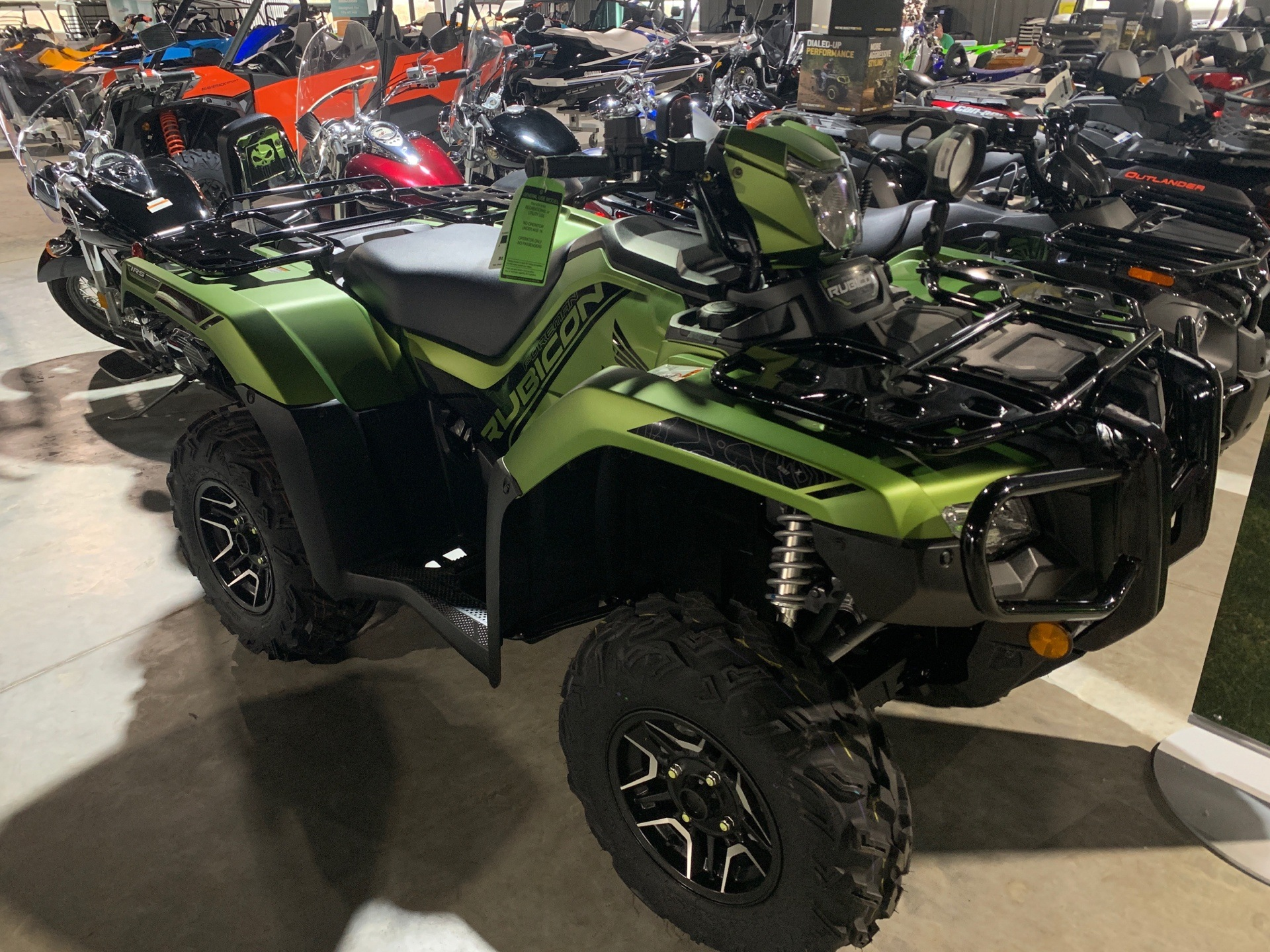 2020 Honda FourTrax Foreman Rubicon 4x4 Automatic DCT EPS Deluxe in Cedar Falls, Iowa - Photo 1