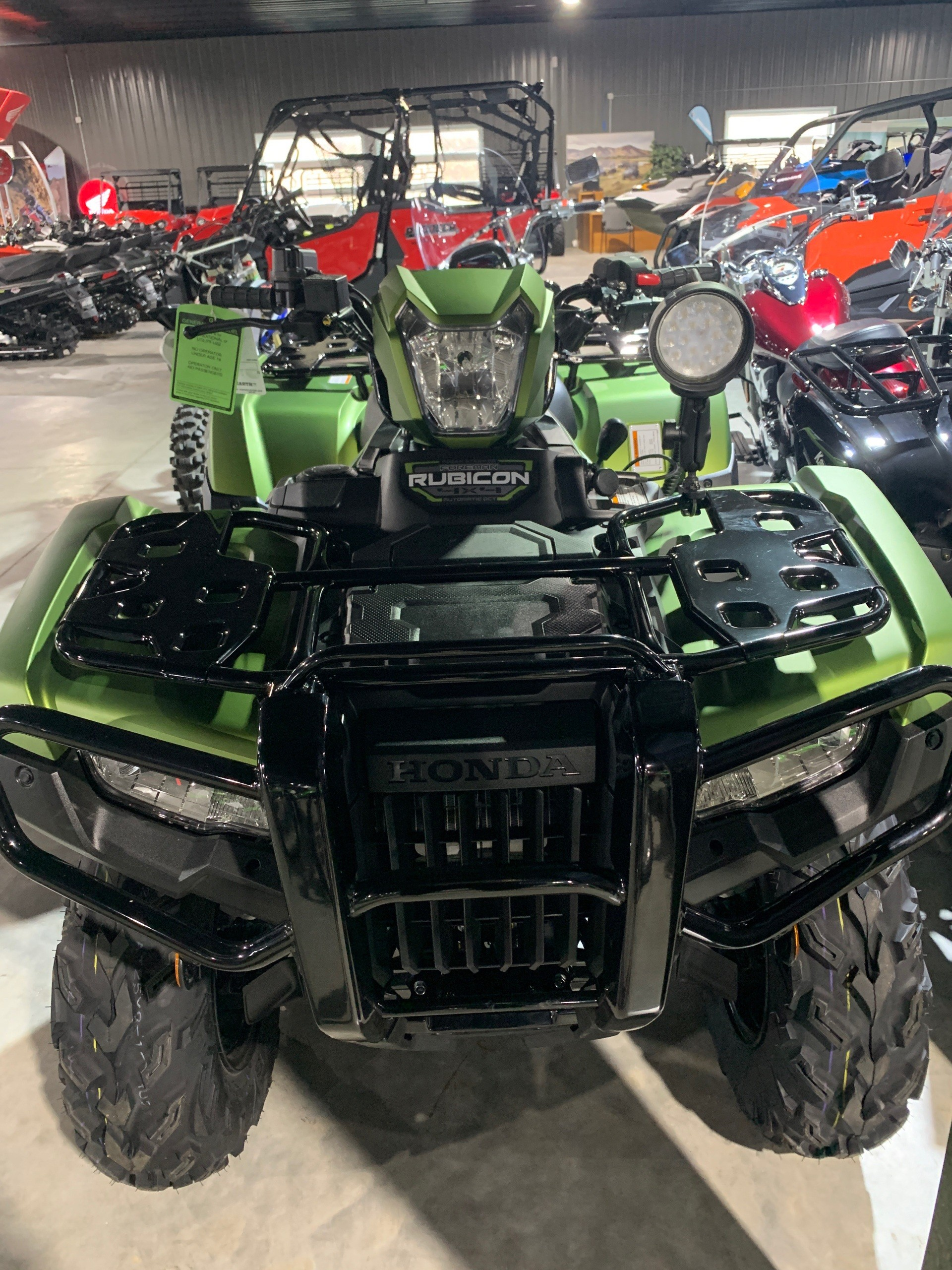 2020 Honda FourTrax Foreman Rubicon 4x4 Automatic DCT EPS Deluxe in Cedar Falls, Iowa - Photo 2