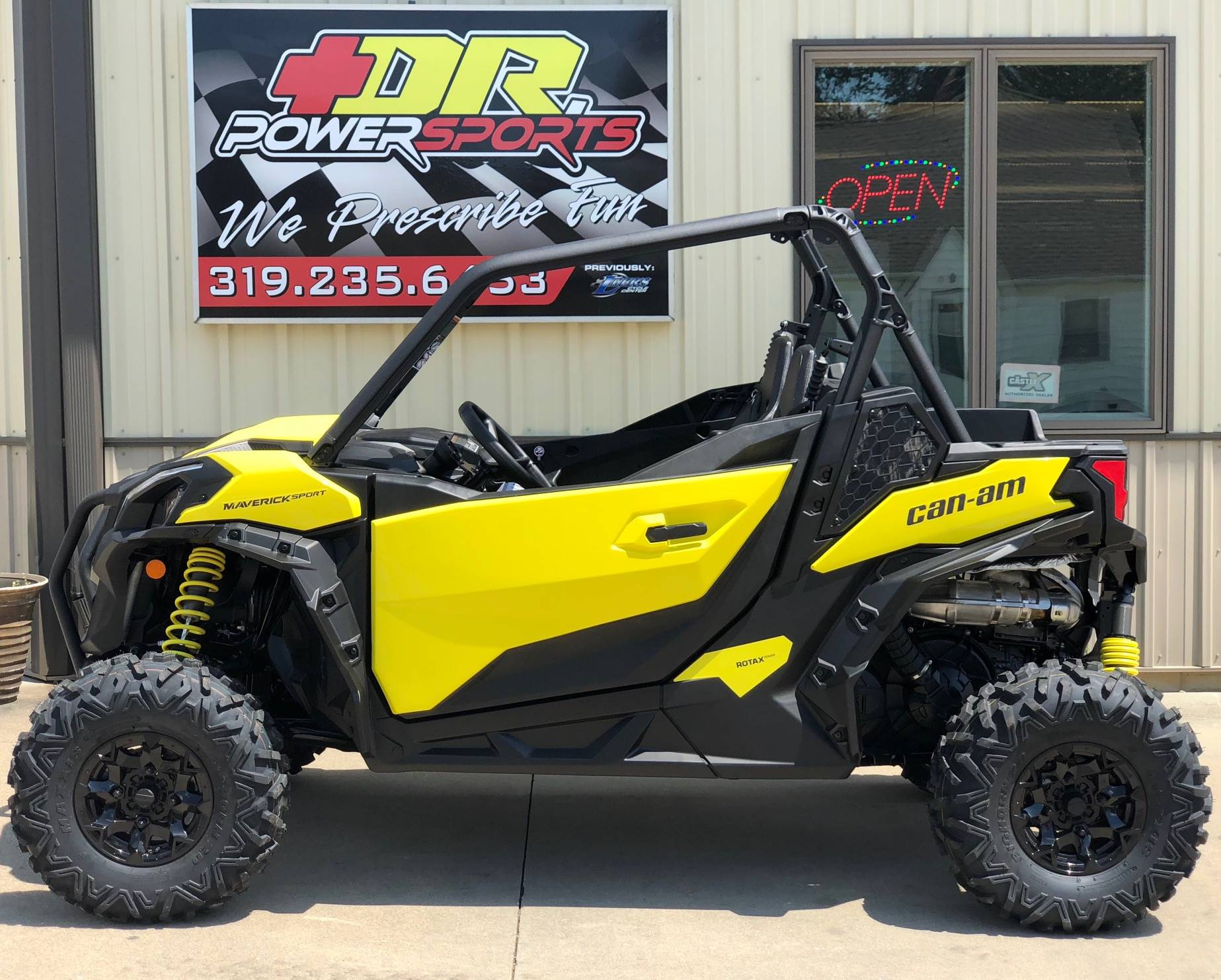 2019 Can-Am Maverick Sport DPS 1000R in Cedar Falls, Iowa - Photo 8