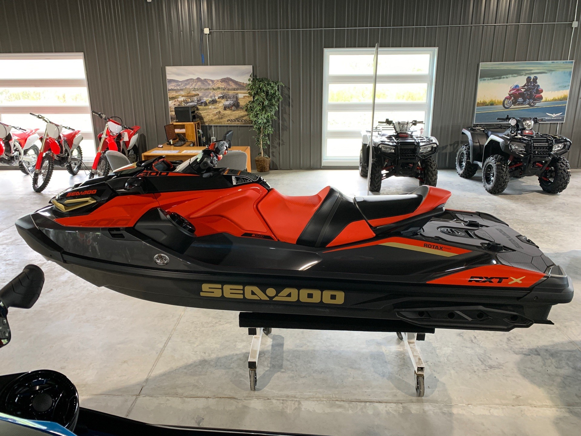 2019 Sea-Doo RXT-X 300 iBR + Sound System in Cedar Falls, Iowa