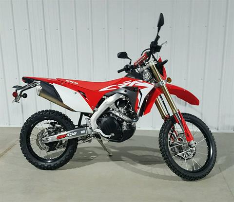 2019 Honda CRF450L in Cedar Falls, Iowa