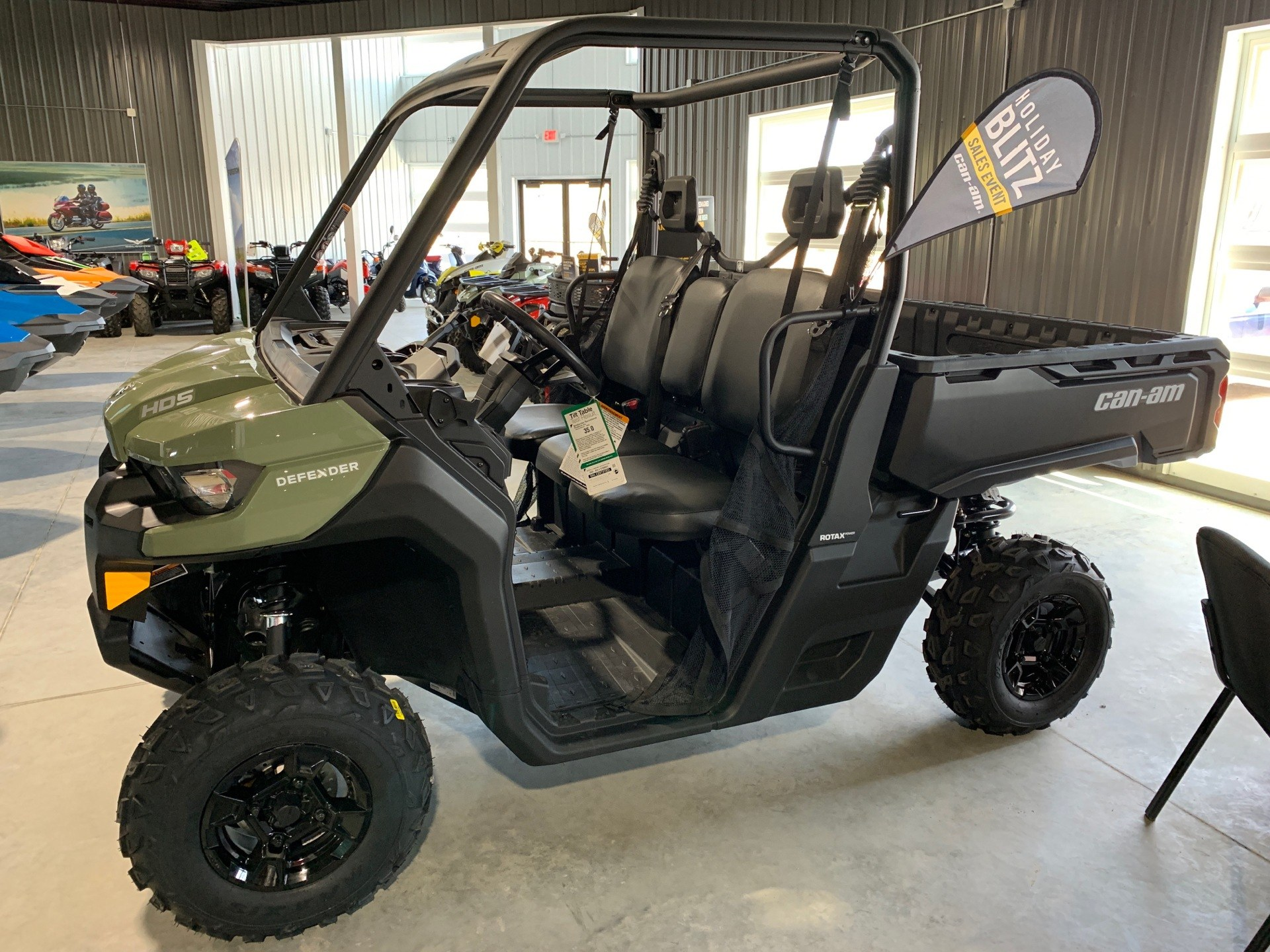 2019 Can-Am Defender DPS HD5 in Cedar Falls, Iowa - Photo 3