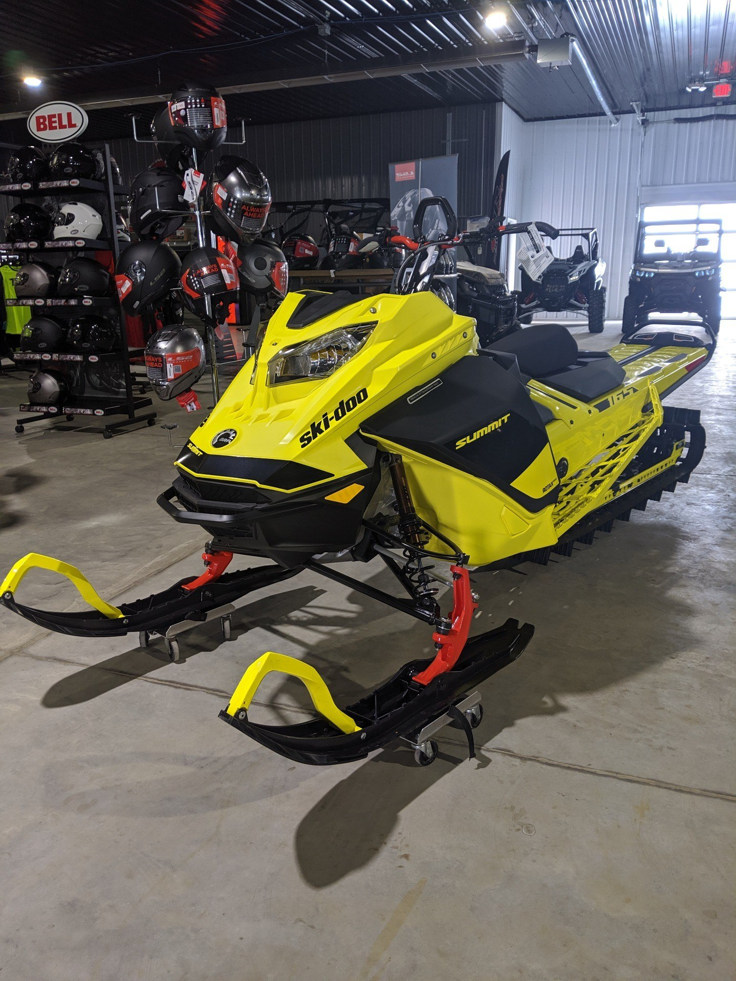 2020 Ski-Doo Summit 165 850 E-TEC Turbo SHOT in Cedar Falls, Iowa - Photo 1