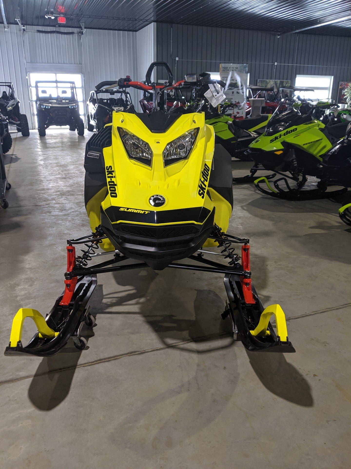 2020 Ski-Doo Summit 165 850 E-TEC Turbo SHOT in Cedar Falls, Iowa - Photo 2
