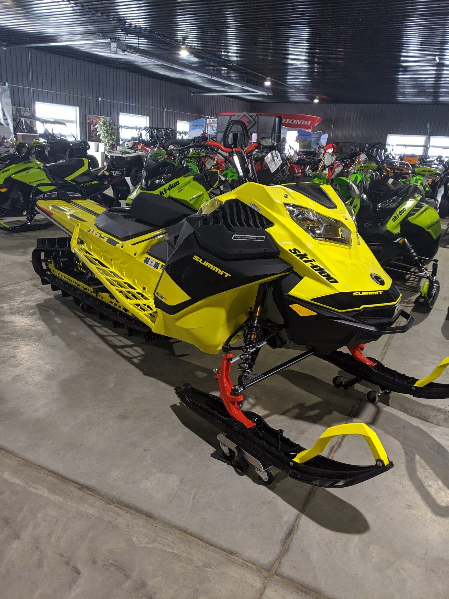 2020 Ski-Doo Summit 165 850 E-TEC Turbo SHOT in Cedar Falls, Iowa - Photo 3