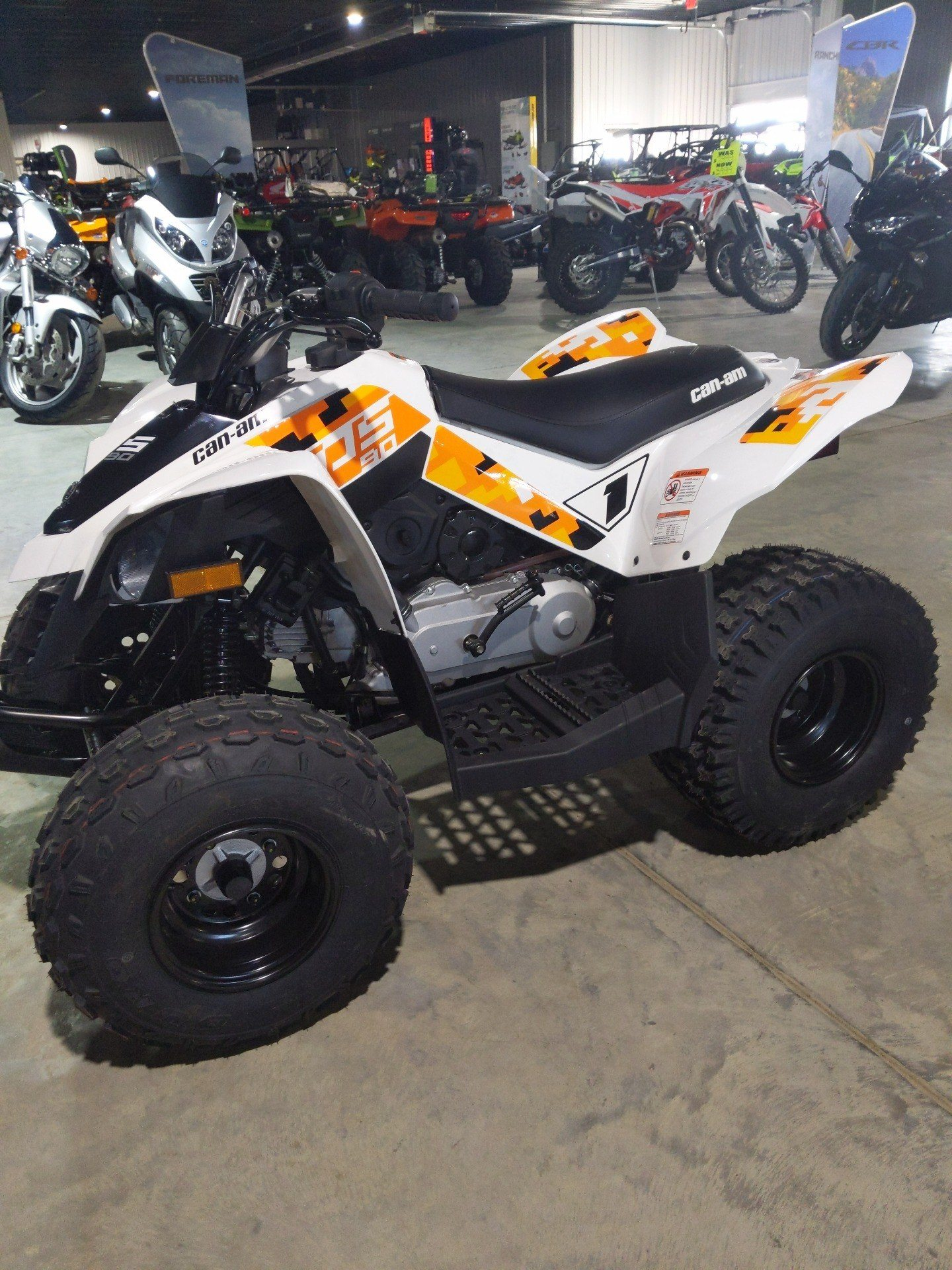 2020 Can-Am DS 90 in Cedar Falls, Iowa - Photo 3