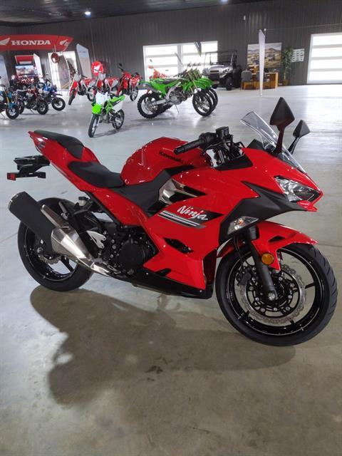 2021 Kawasaki Ninja 400 ABS in Cedar Falls, Iowa - Photo 1