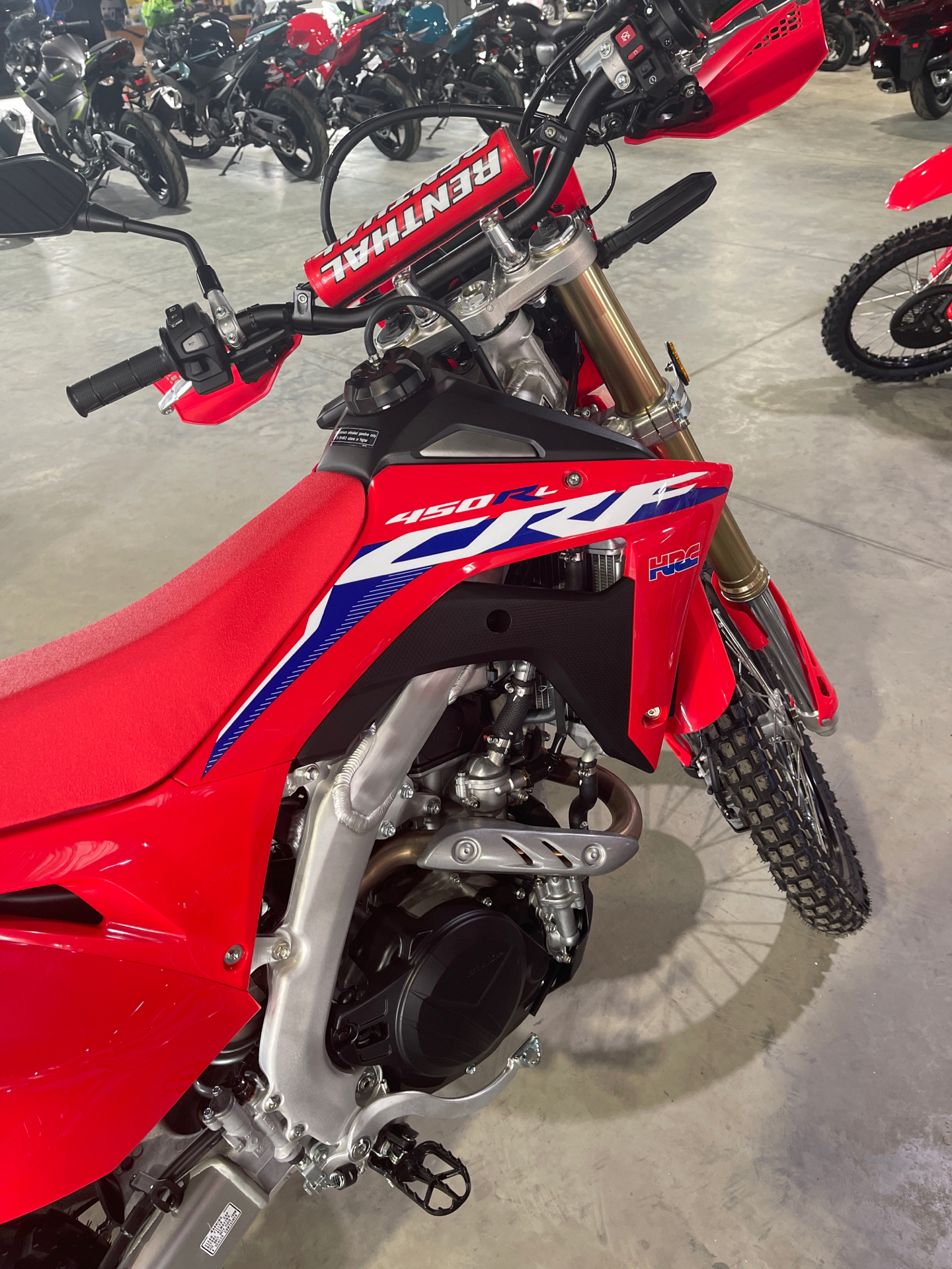 2021 Honda CRF450RL in Cedar Falls, Iowa - Photo 3