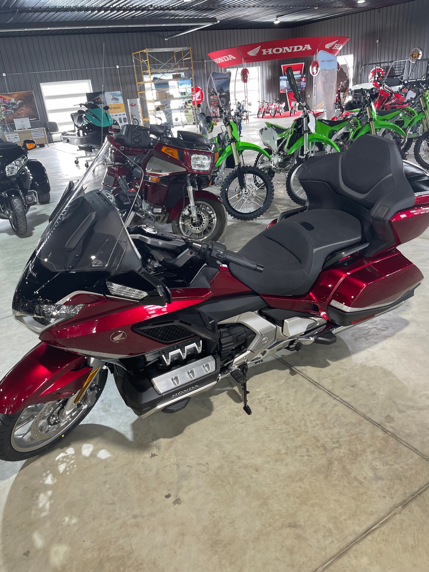 2021 Honda Gold Wing Tour Automatic DCT in Cedar Falls, Iowa - Photo 9
