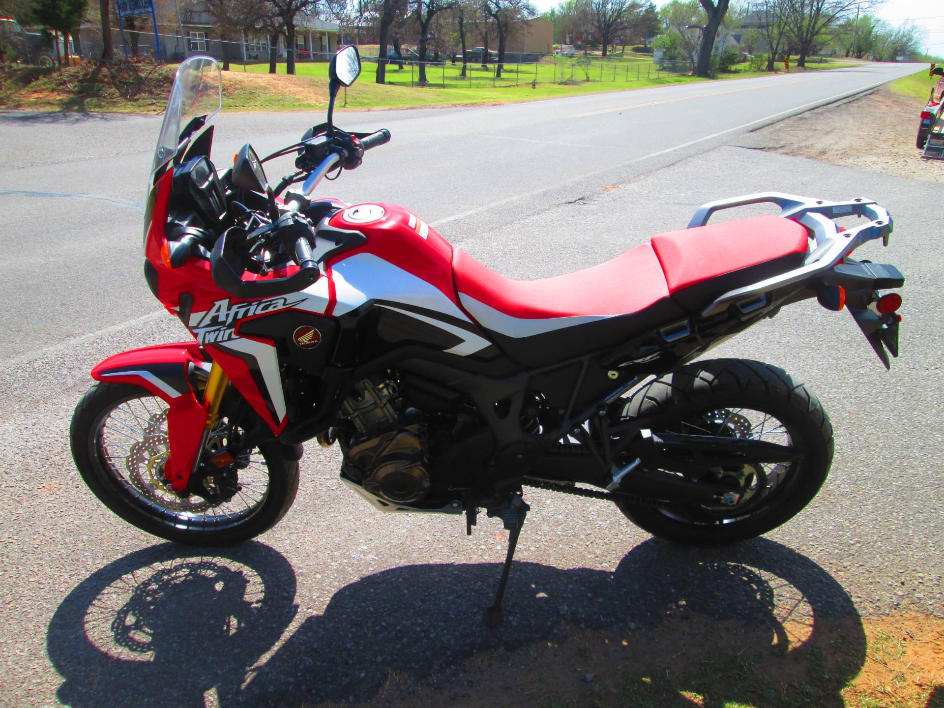 2016 Honda Africa Twin DCT in Jones, Oklahoma