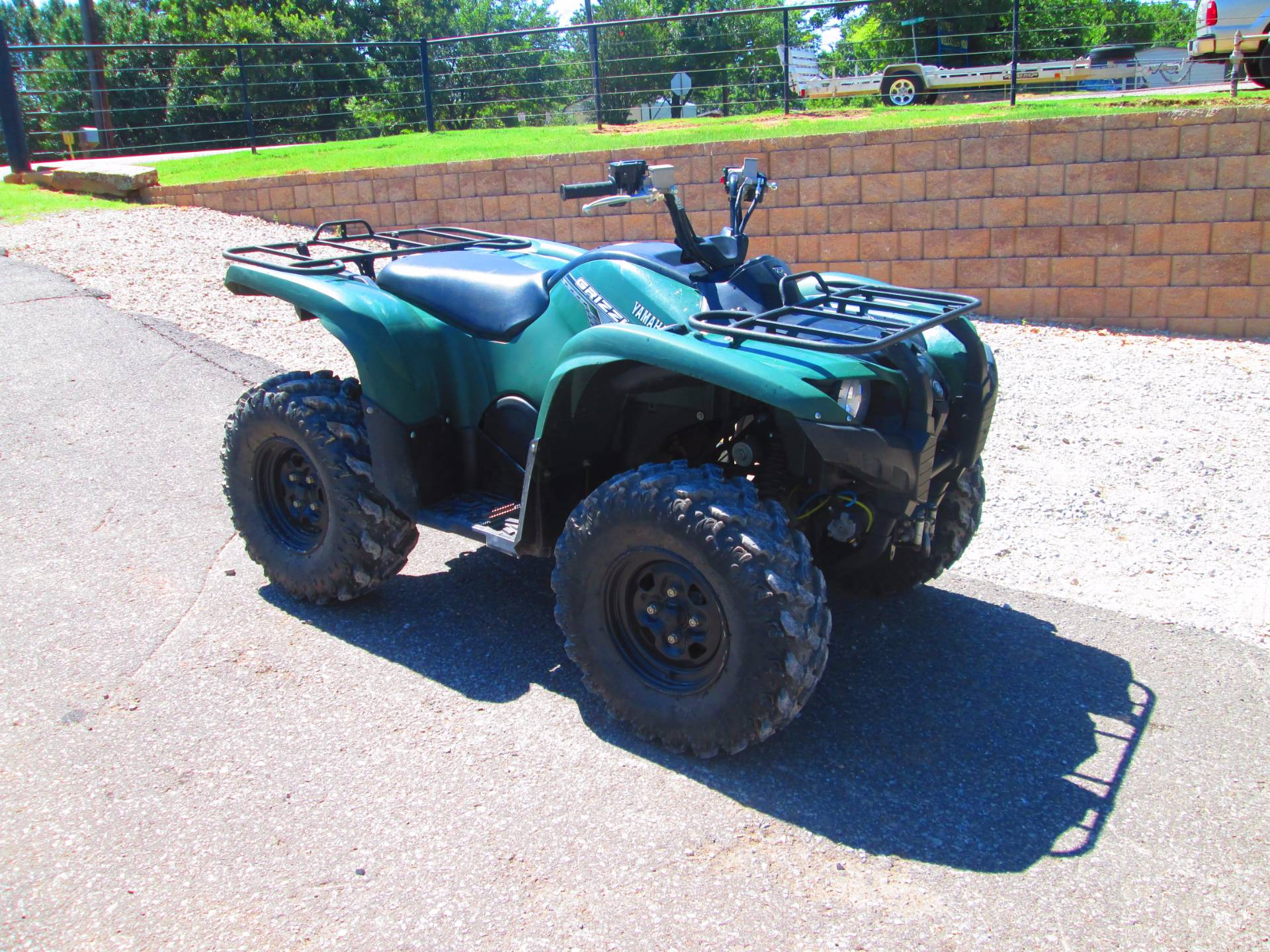 2014 Yamaha Grizzly 700 FI Auto. 4x4 EPS in Jones, Oklahoma
