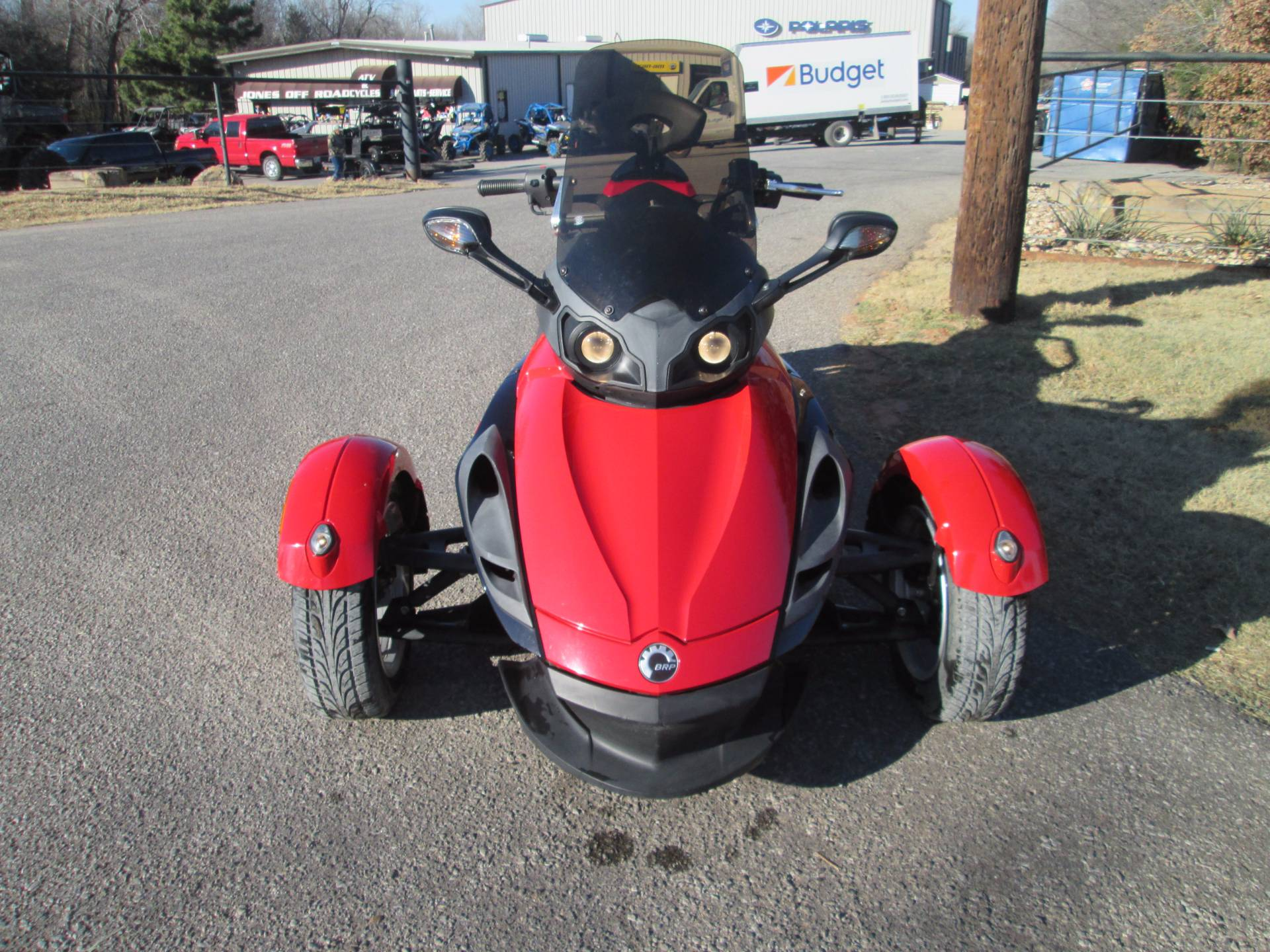 2009 Can-Am Spyder™ GS Roadster with SM5 Transmission (manual) in Jones, Oklahoma