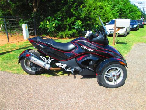 2012 Can-Am Spyder® RS SM5 in Jones, Oklahoma