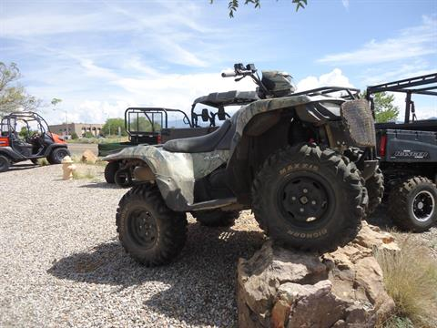 2012 Suzuki KingQuad® 750AXi Camo Power Steering in Santa Fe, New Mexico